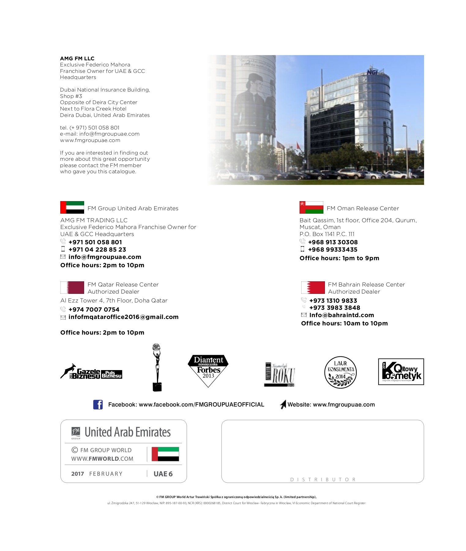 FM GROUP UAE - NEW CATALOGUE Pages 1 - 35 - Text Version