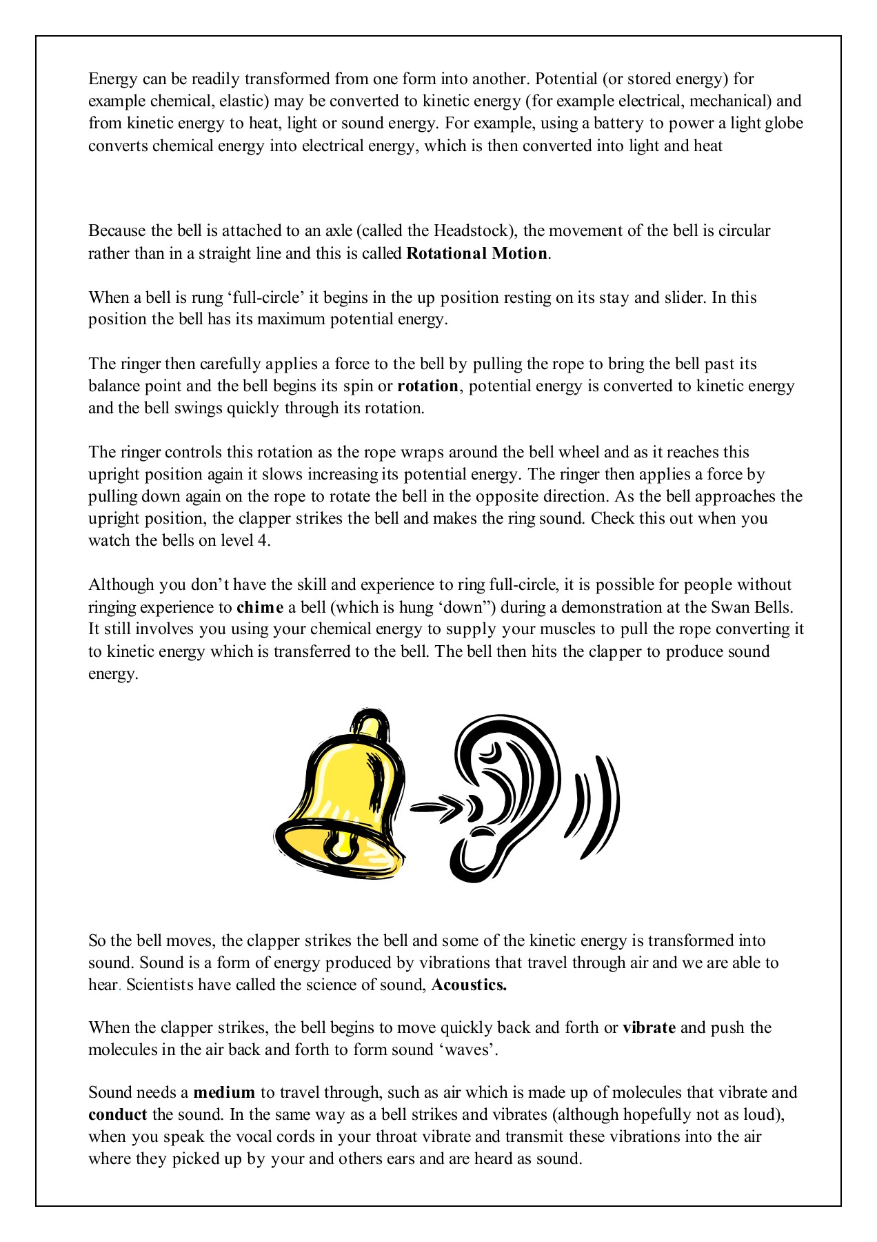Science of bells - The Bell Tower Pages 1 - 4 - Text Version