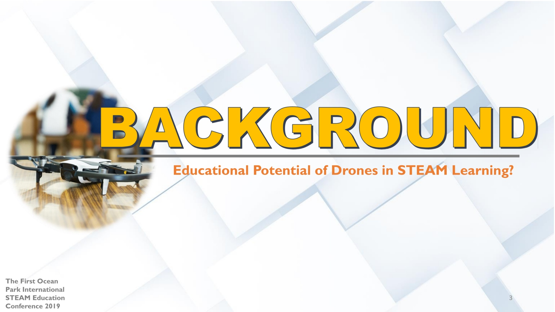 "A Finnish Interdisciplinary Approach to STEAM Learning : ""Drone"