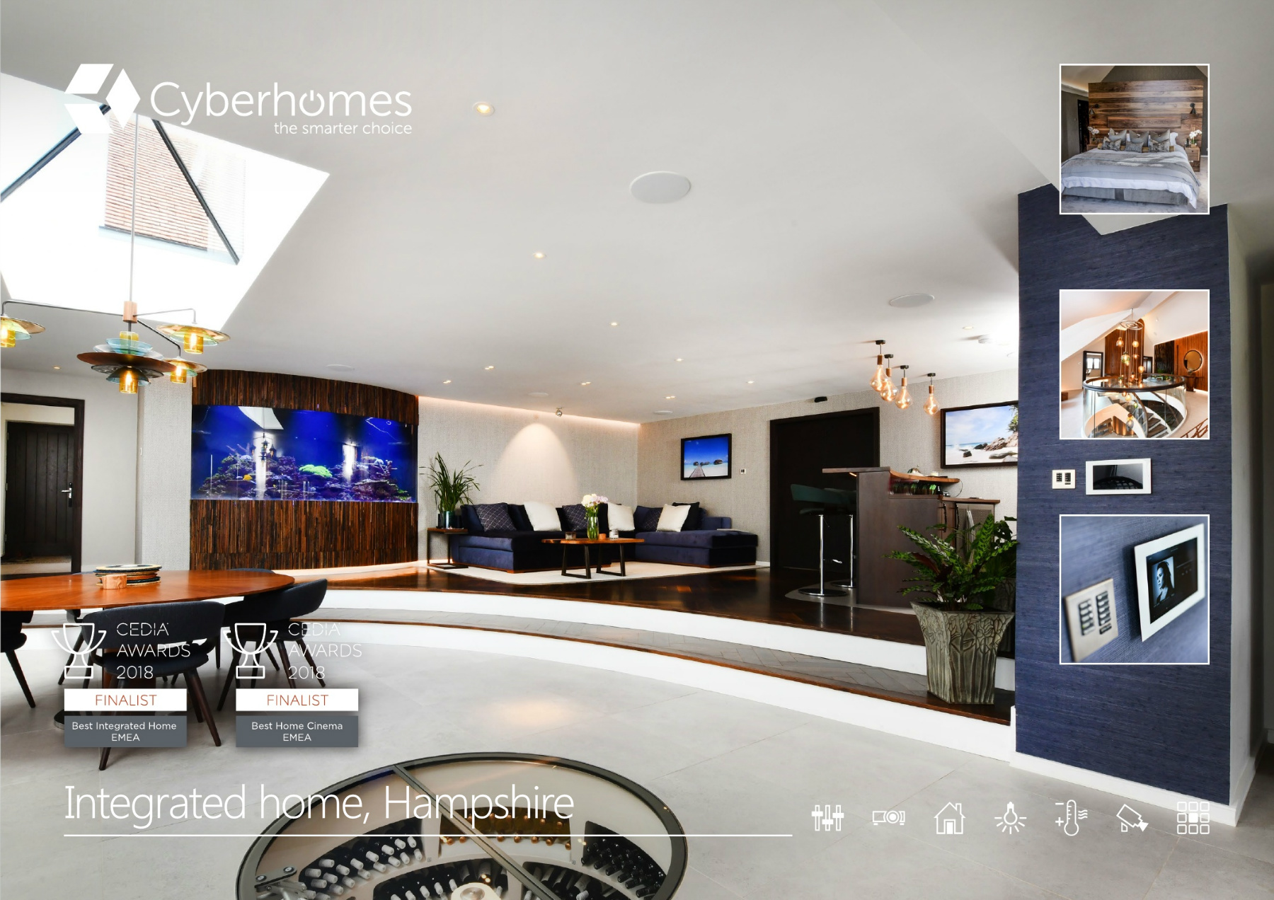 Cyberhomes case study Hampshire Integrated Home