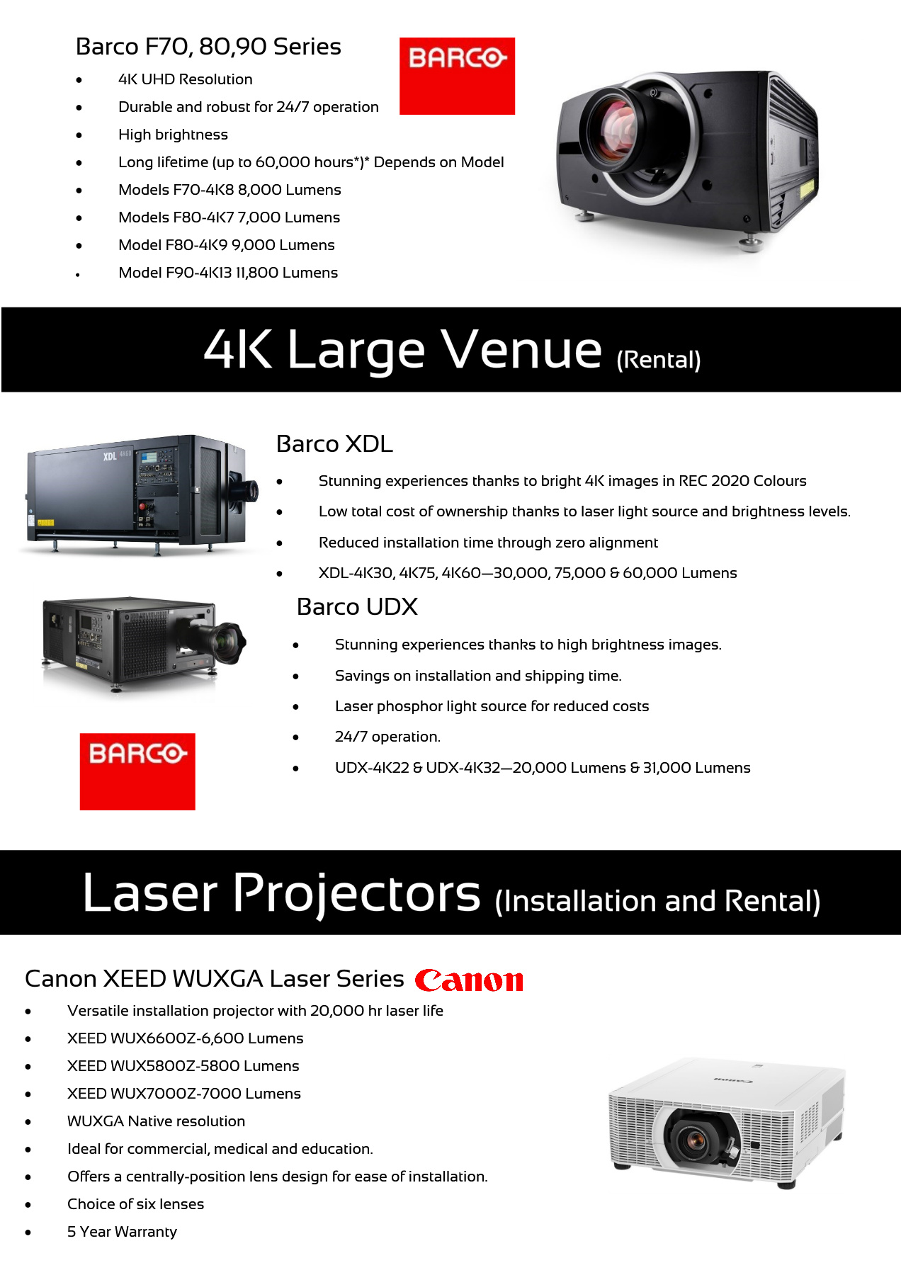Projectors, Screens & Image Processing Pages 1 - 10 - Text Version