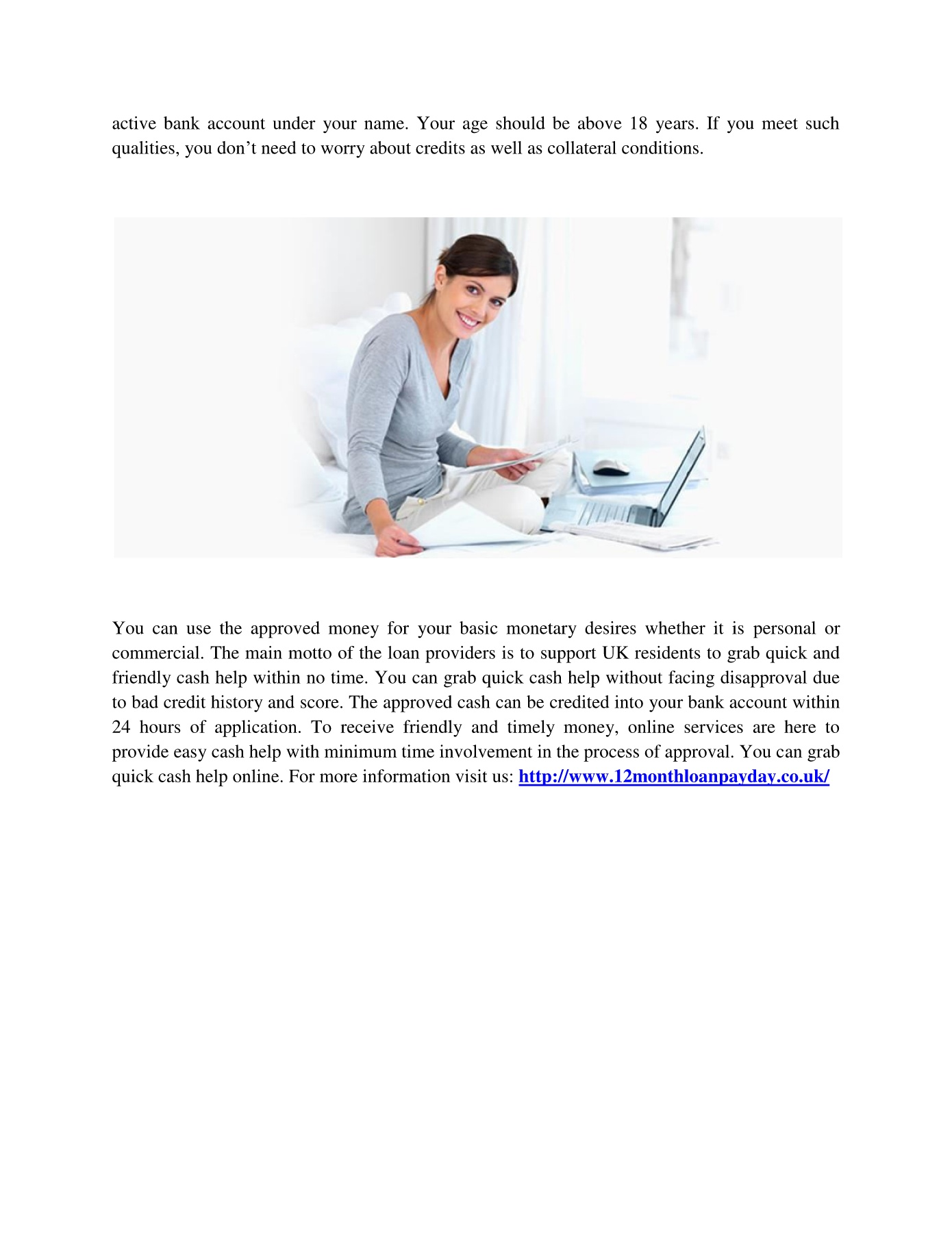12 month loans for bad credit Pages 1 - 2 - Text Version