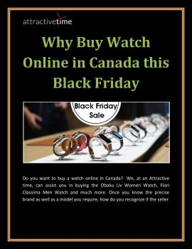 Carte We Black Friday.Why Buy Watch Online In Canada This Black Friday Anyflip