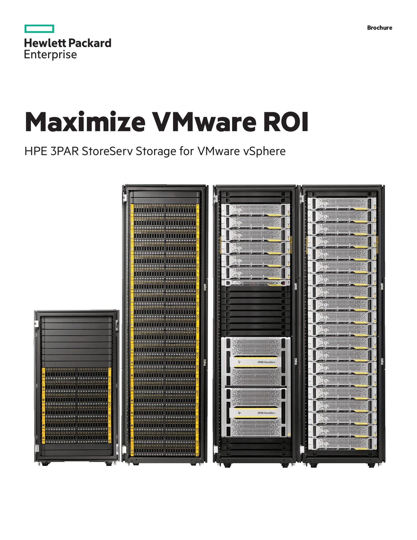 Maximize VMware ROI - Hewlett Packard Pages 1 - 12 - Text