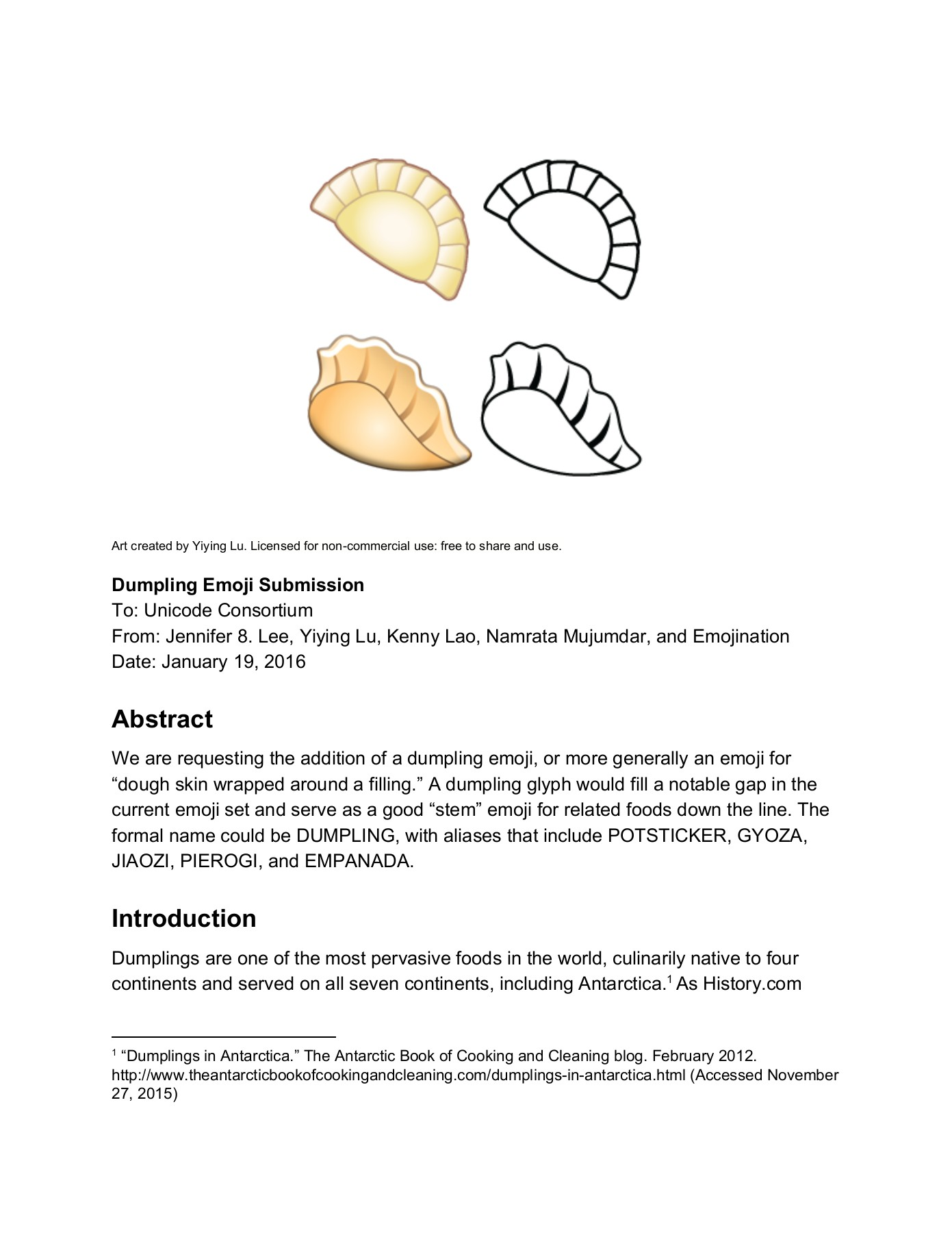 Abstract Introduction - Unicode Consortium Pages 1 - 9