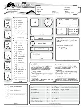 Nasadeth, hill dwarf cleric Pages 1 - 4 - Text Version | AnyFlip