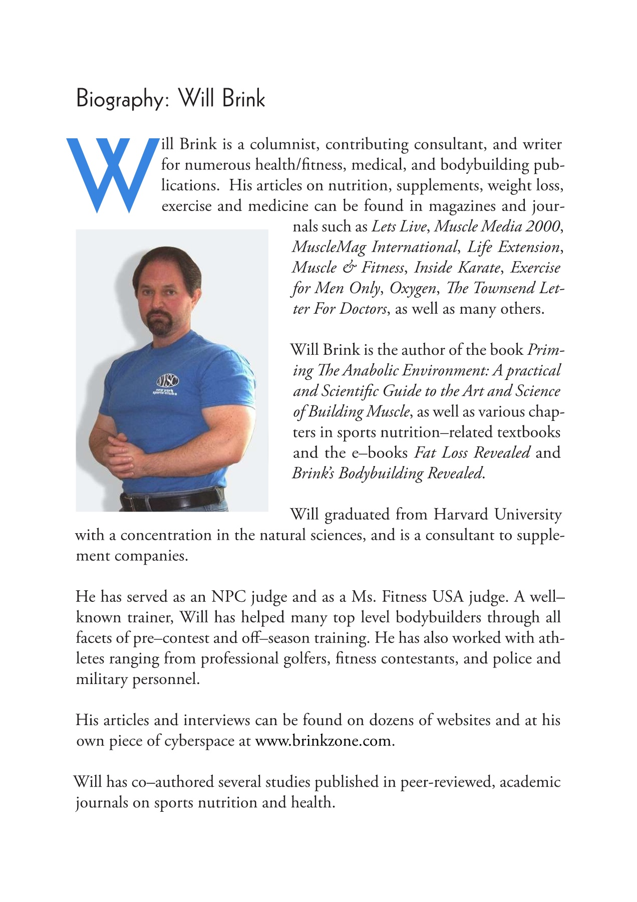 Will Brink Fat Loss Revealed System Pages 1 15 Text Version