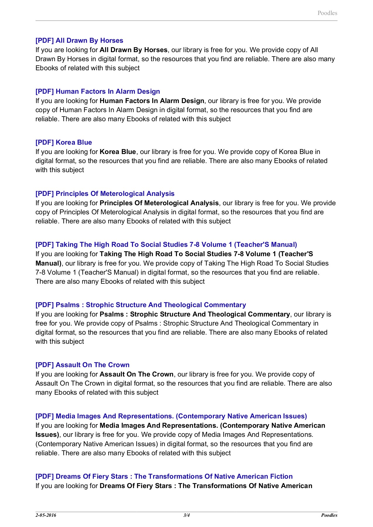 Poodles - bookkeepsubstantial top Pages 1 - 4 - Text Version | AnyFlip