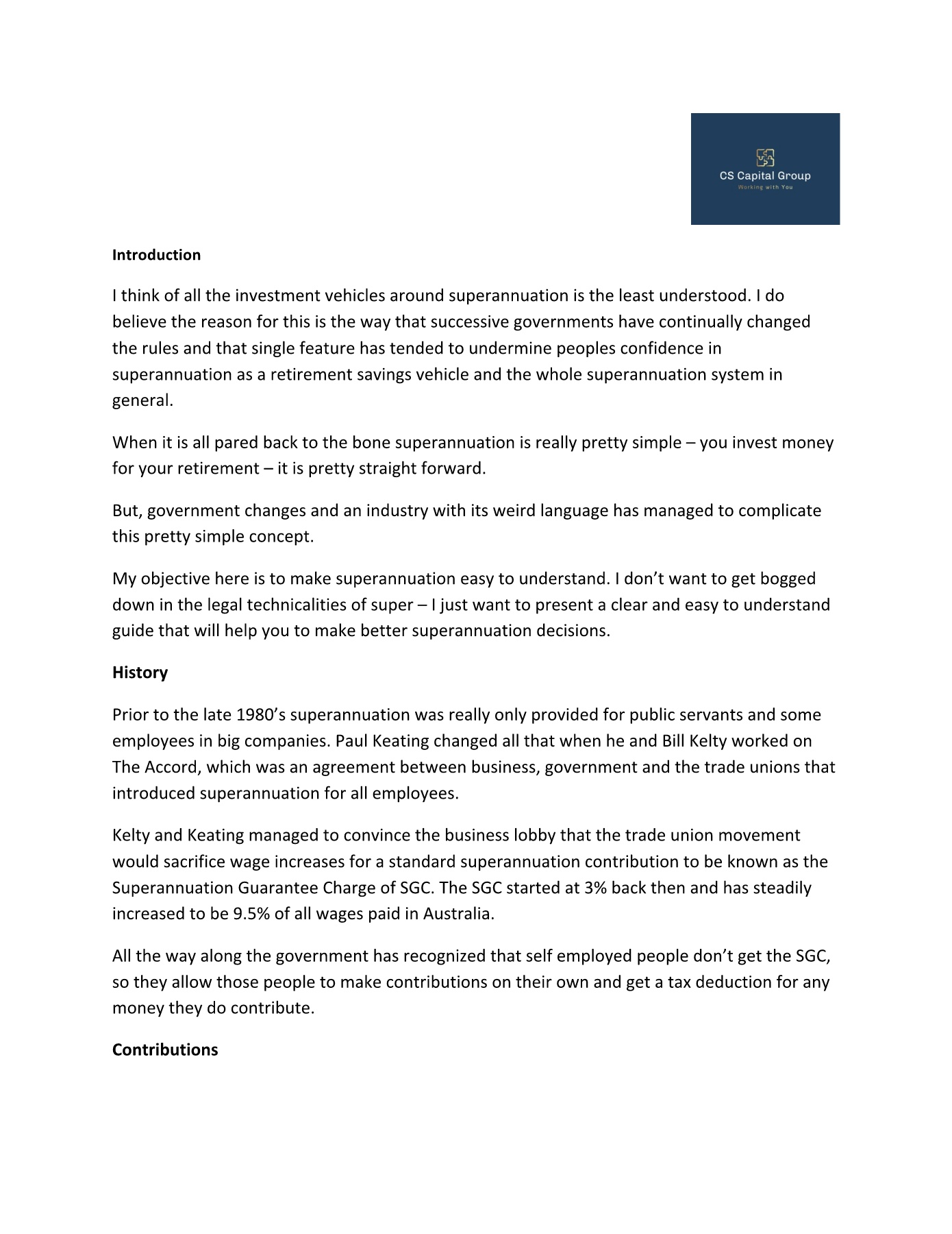 Superannuation Made Easy Pages 1 - 8 - Text Version | AnyFlip