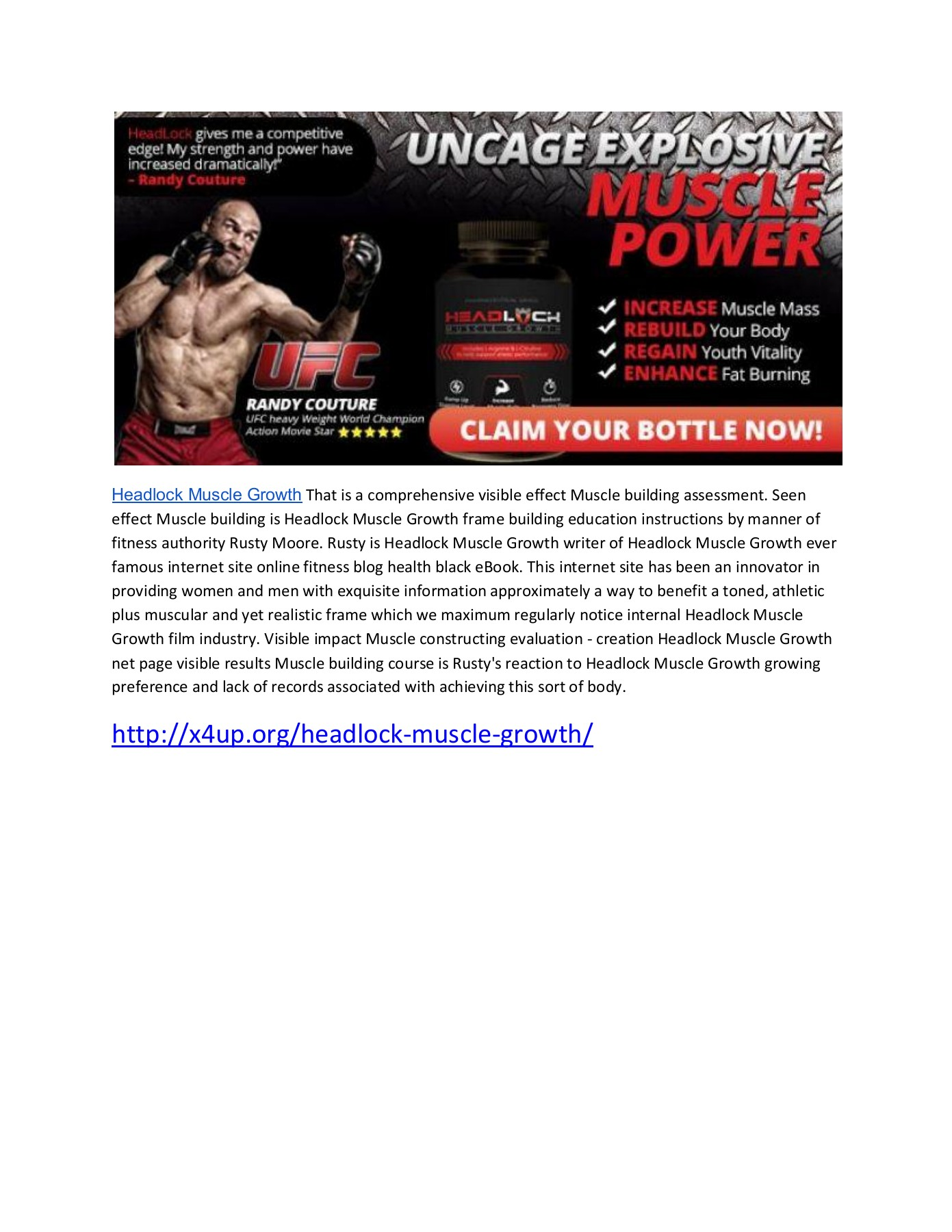 Http X4up Org Headlock Muscle Growth