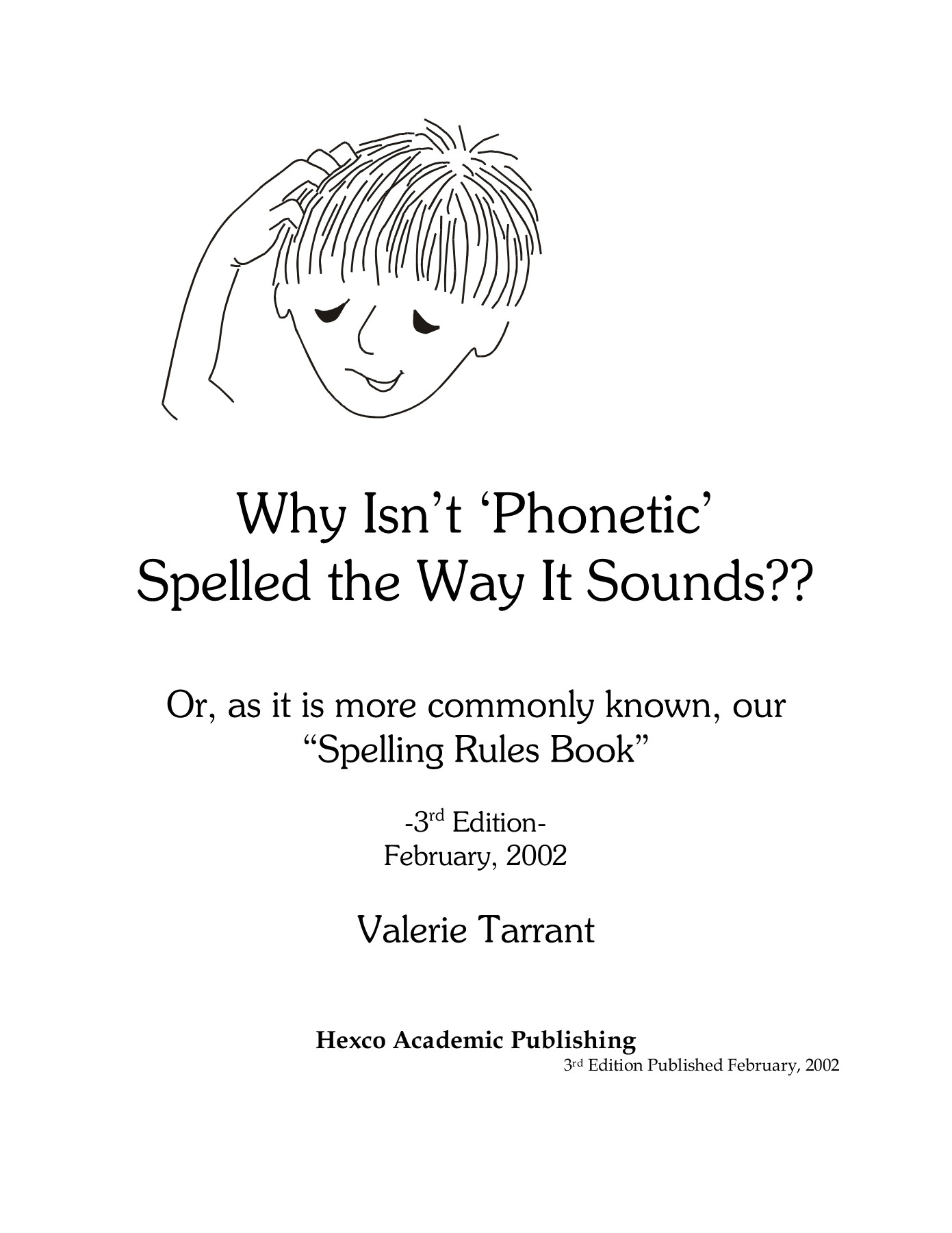 Why Isn't 'Phonetic' Spelled the Way It Sounds?? Pages 1