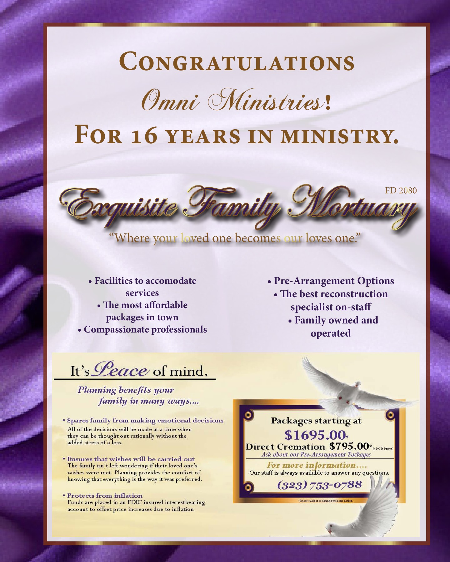 white gold royalty church anniversary souvenir booklet pages 1