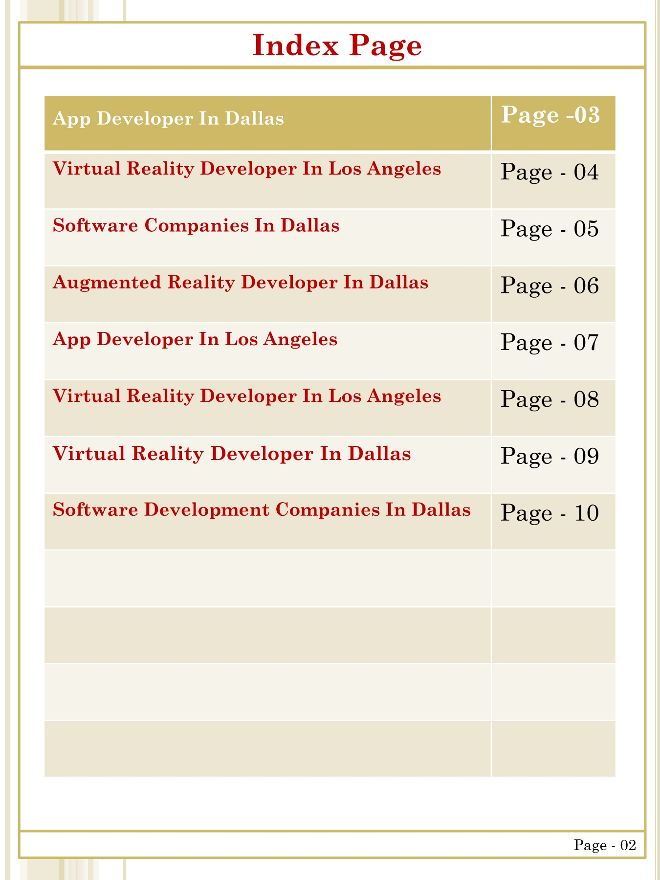 Augmented Reality Developer In Dallas Pages 1 - 10 - Text