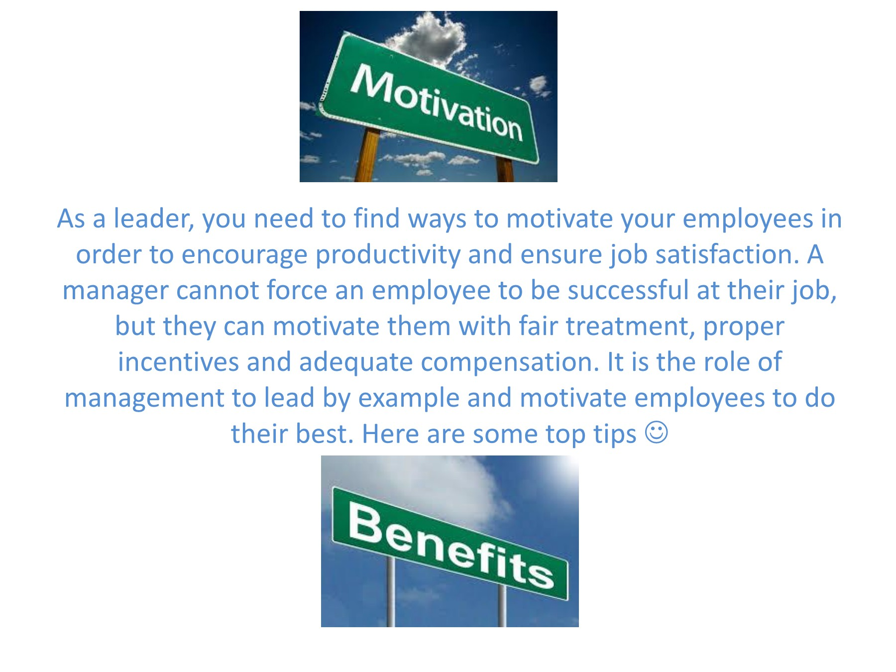 The ABCs of keeping employees motivated Pages 1 - 15 - Text
