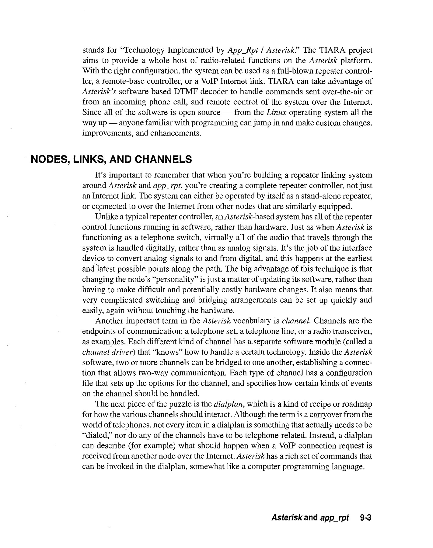 Chapter 9 Asterisk and app rpt - QSL net Pages 1 - 7 - Text Version