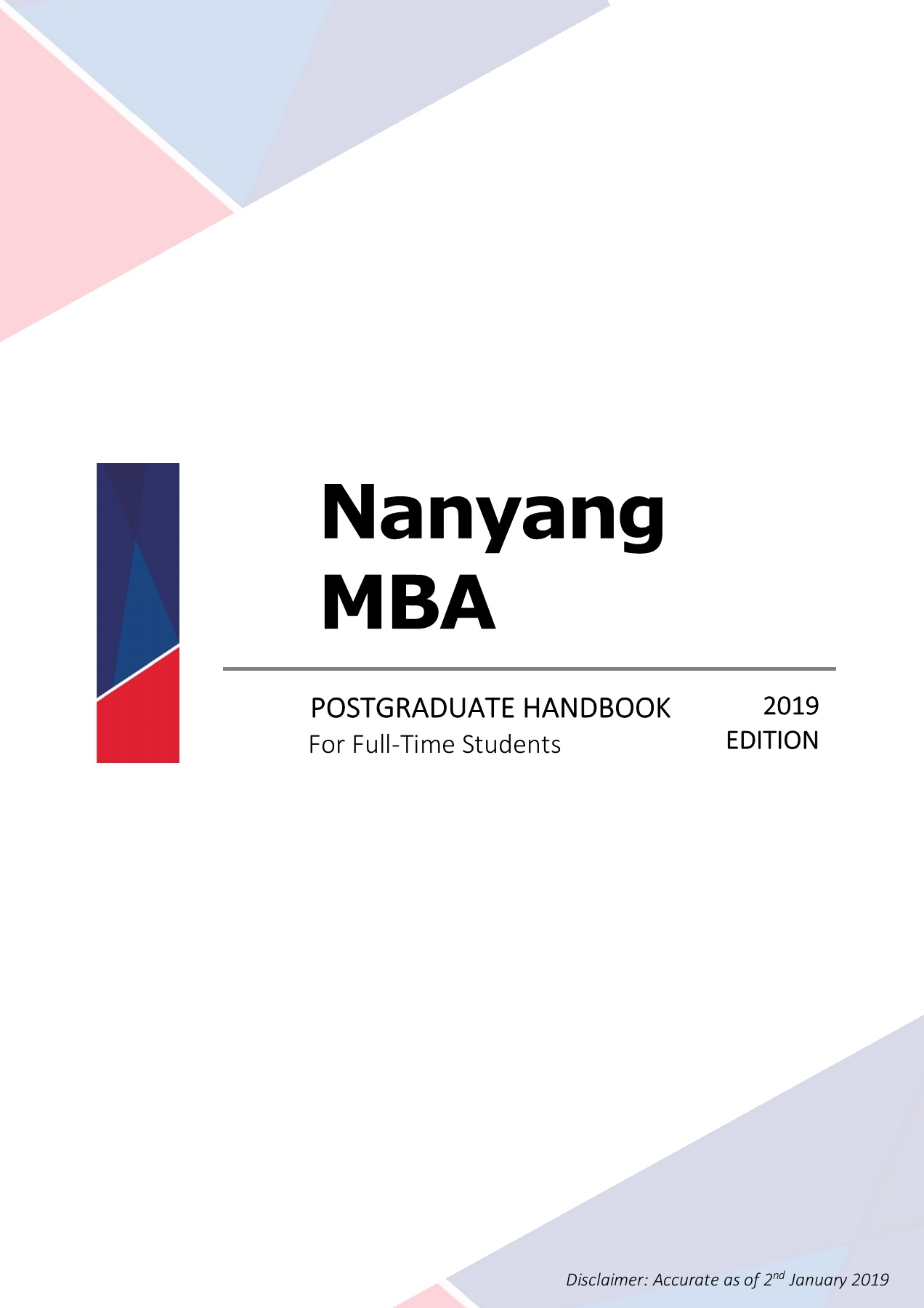 MBA Student Handbook 2019 Pages 51 - 74 - Text Version | AnyFlip