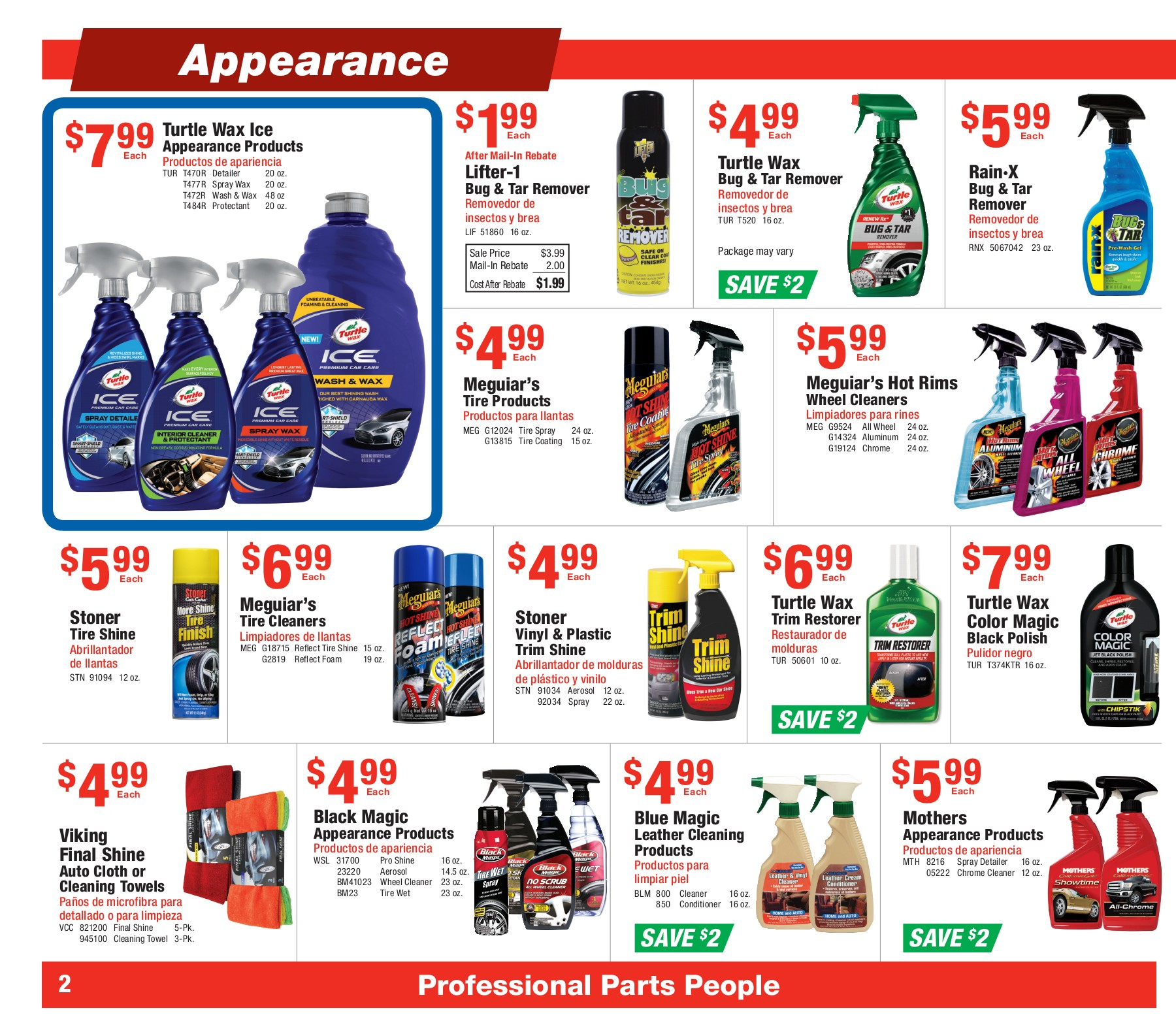 Parts City Auto June 28 July 25 2017 Wk 1726 Pages 1 Turtle Wax Turtlewax T 319 Jet Back Spray Detailer 12 Text Version Anyflip