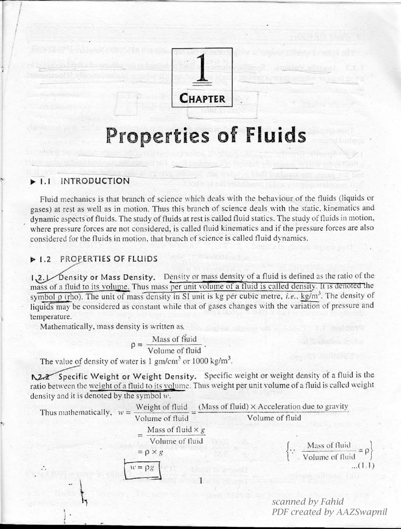 A TextBook of Fluid Mechanics and Hydraulic Machines - Dr  R  K