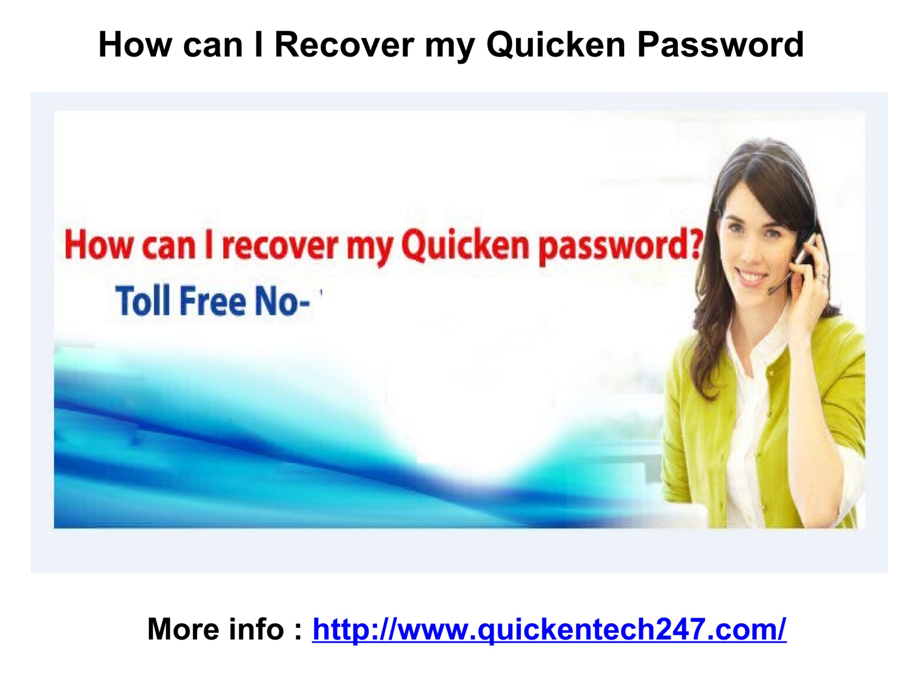 How can I Recover my Quicken Password Pages 1 - 4 - Text