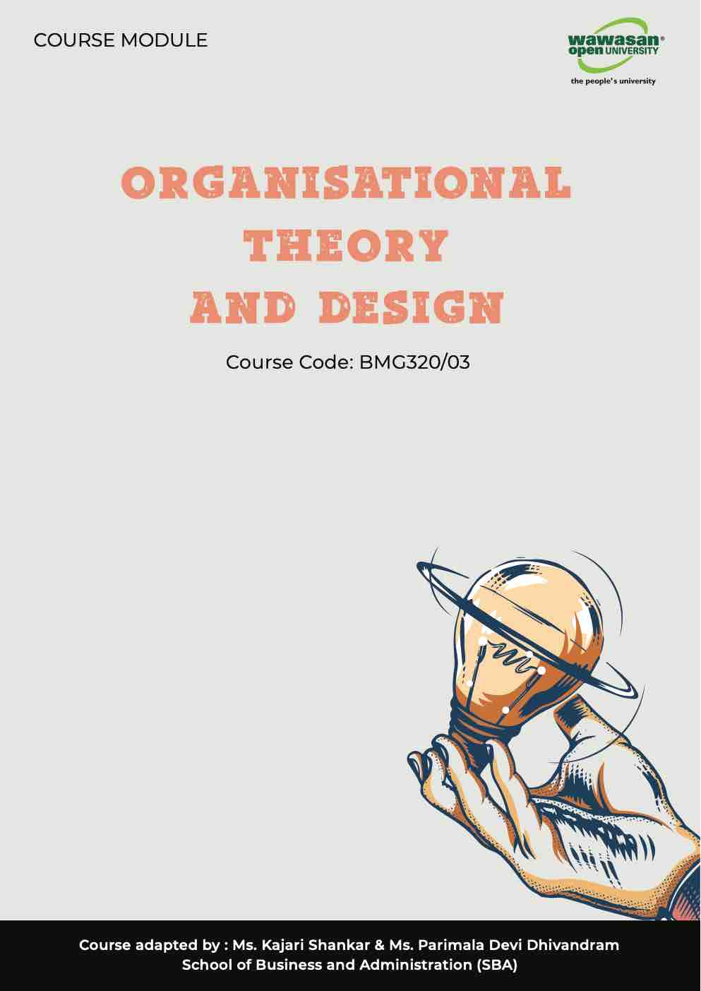 Bmg320 03 Organisational Theory And Design Pages 1 50 Text Version Anyflip