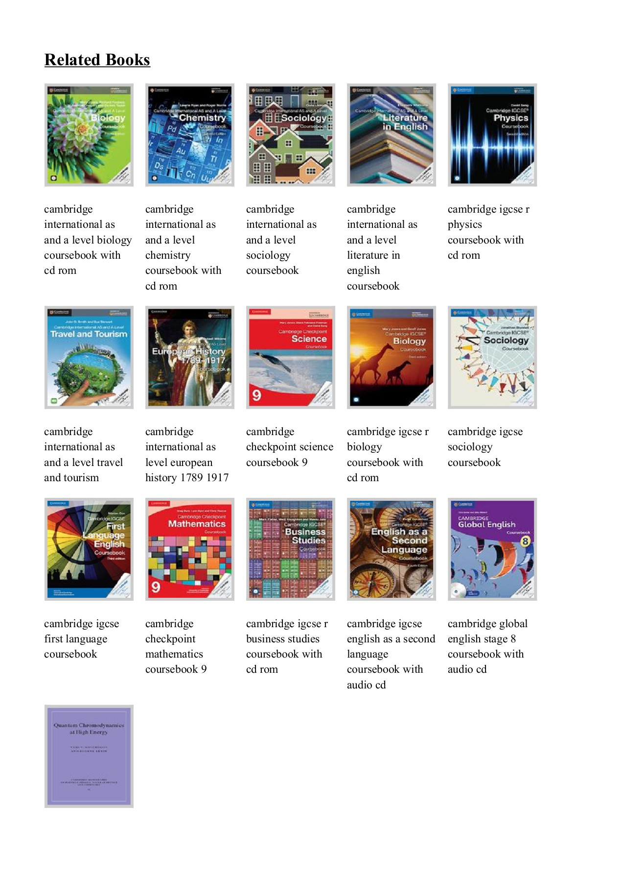 Free Download Cambridge International AS and A Level