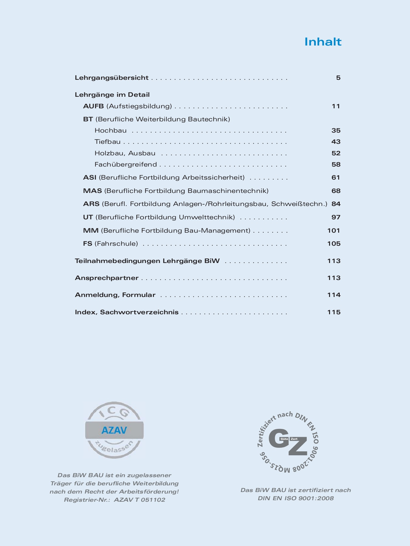 BiW BAU Bildungskatalog 17_18_Monitor Pages 51 - 100 - Text Version ...