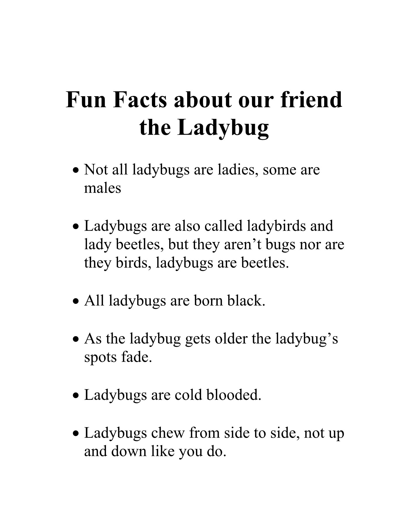 Ladybugs - UC Agriculture & Natural Resources Pages 1 - 17 - Text