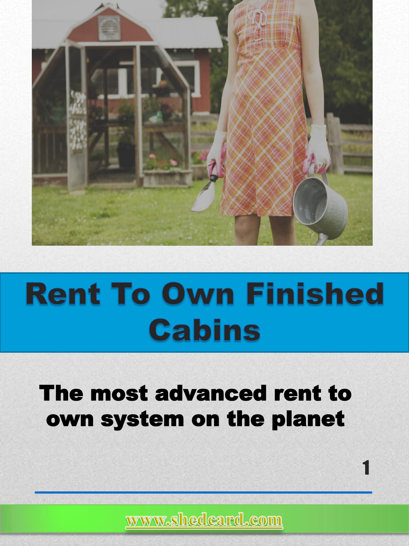 Rent To Own Finished Cabins Pages 1 - 20 - Text Version | AnyFlip