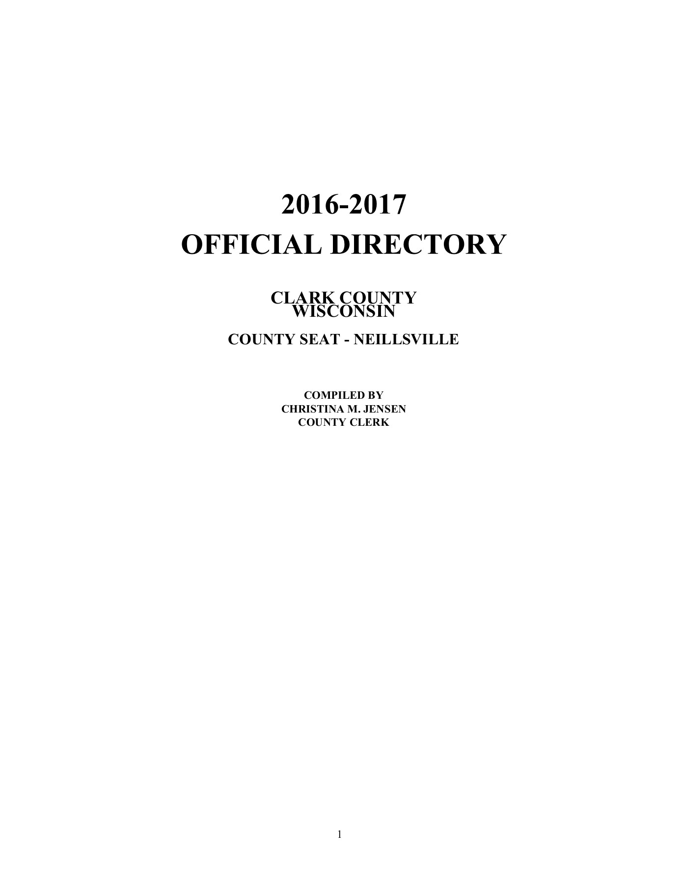 OFFICIAL DIRECTORY 201 6-201 7 Pages 1 - 50 - Text Version | AnyFlip
