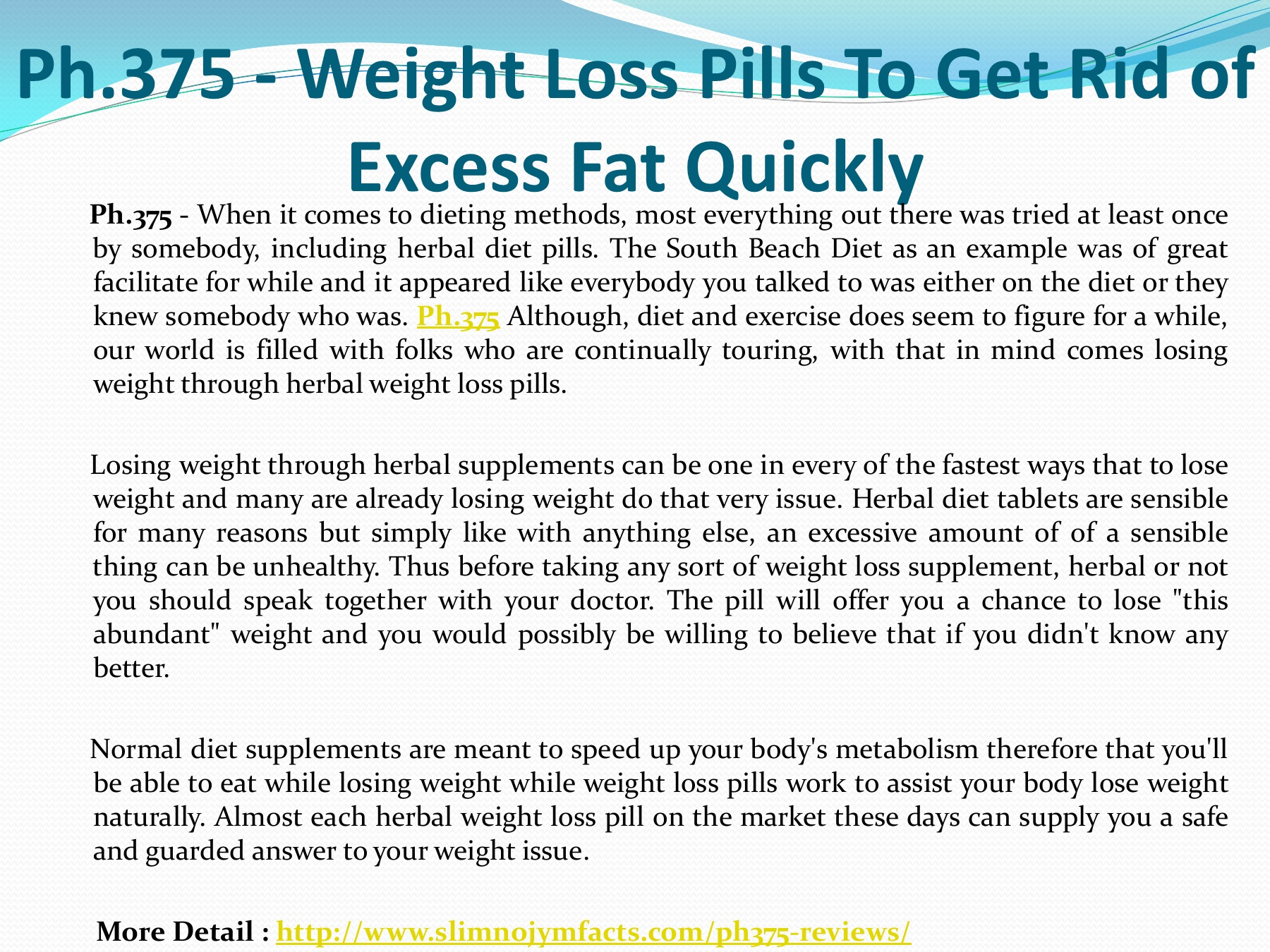What herbs get rid of excess weight