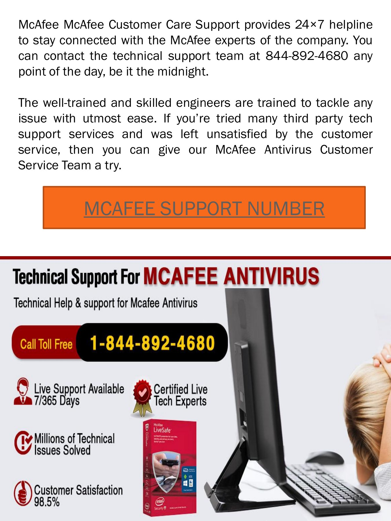 Mcafee Support Number Pages 1 - 10 - Text Version | AnyFlip
