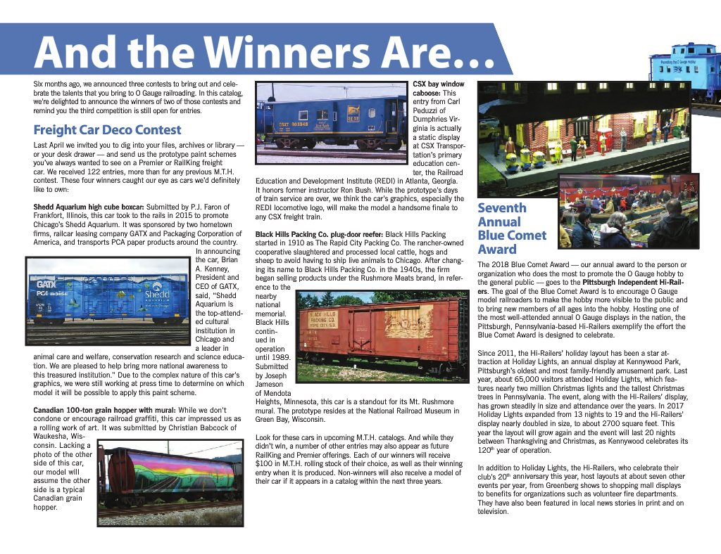 Model Railroads & Trains MTH Trains Year 2015 Volume One