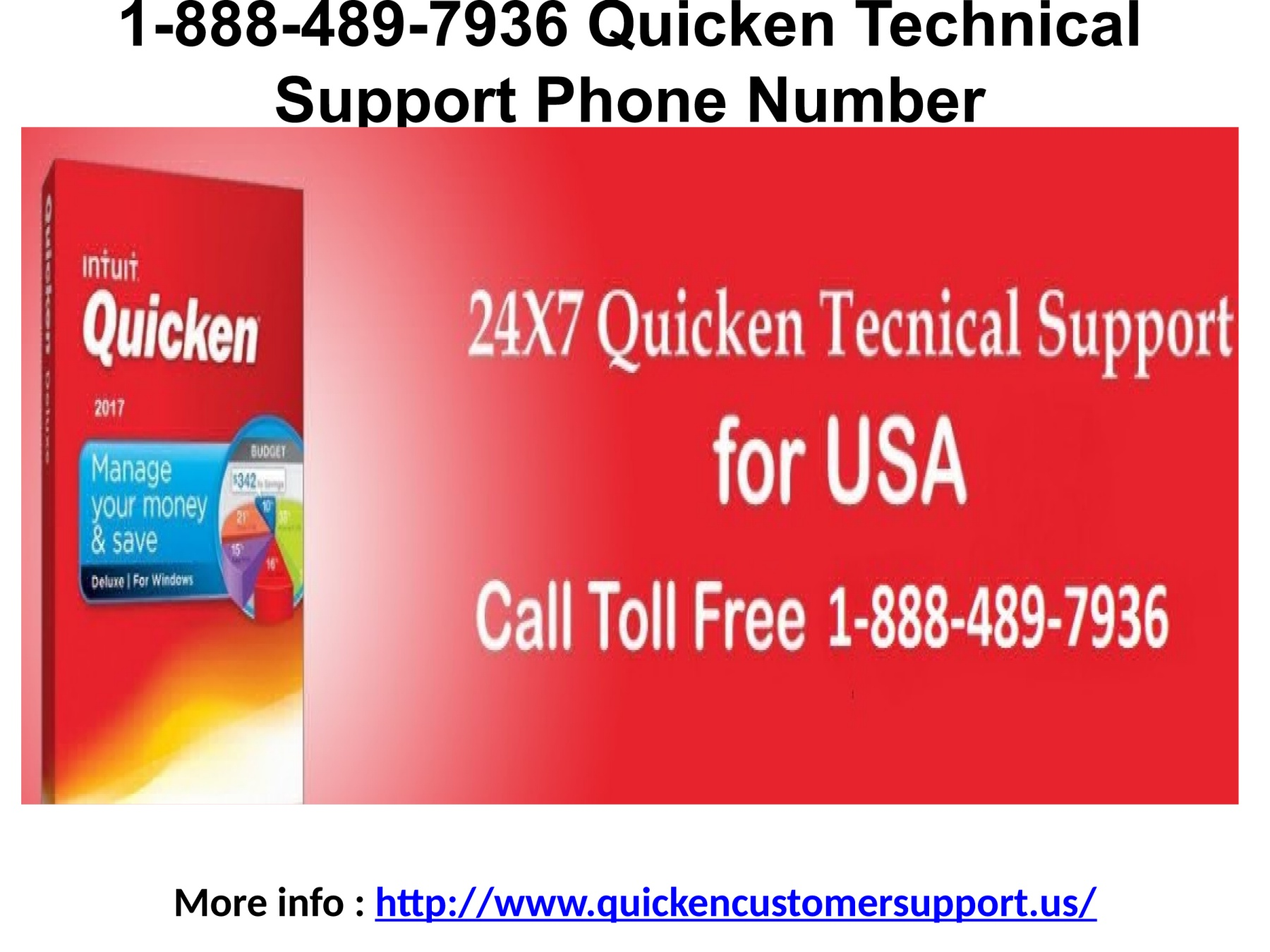 1-888-489-7936 Quicken Technical Support Phone Number