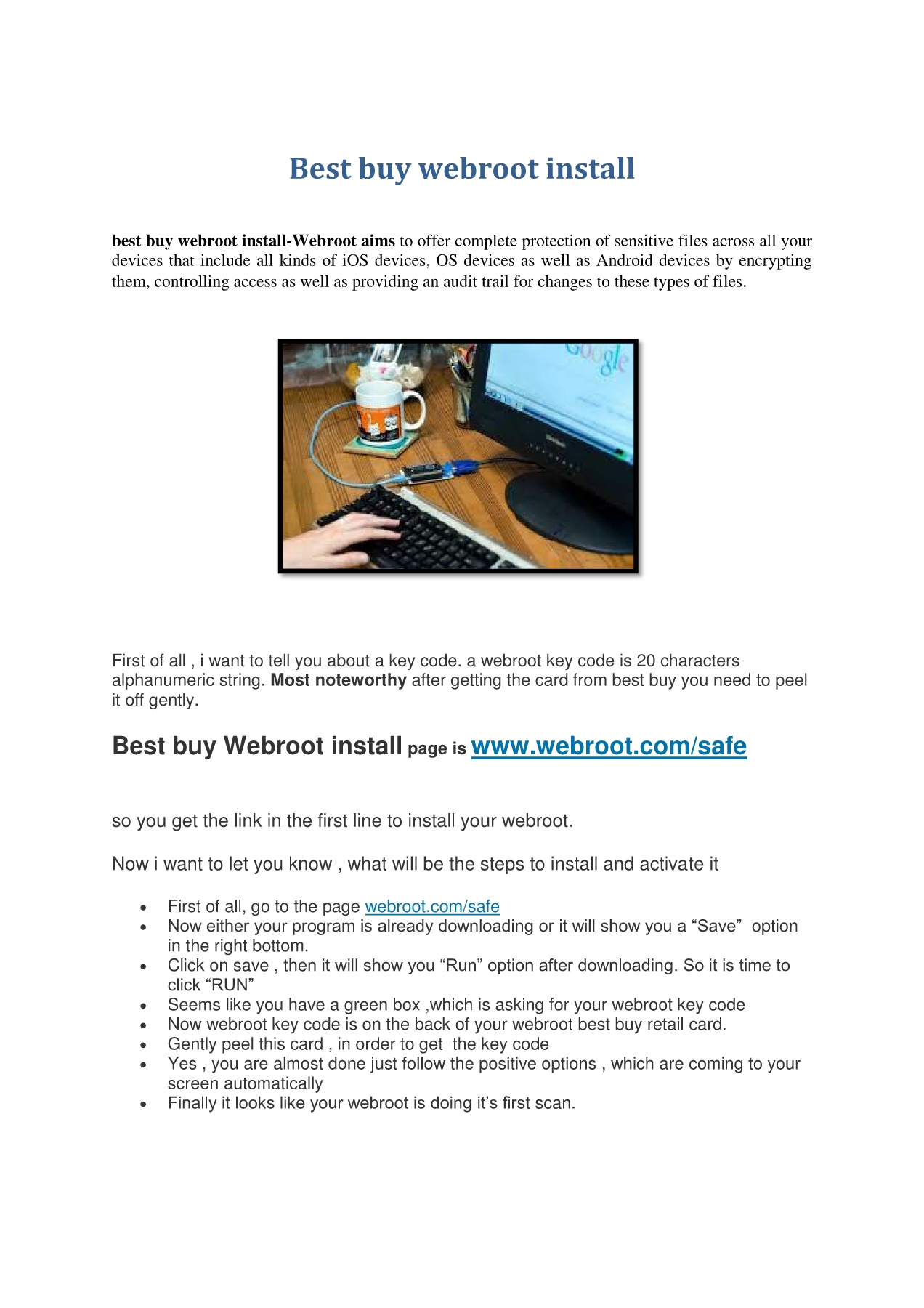 Best buy webroot install Pages 1 - 2 - Text Version | AnyFlip