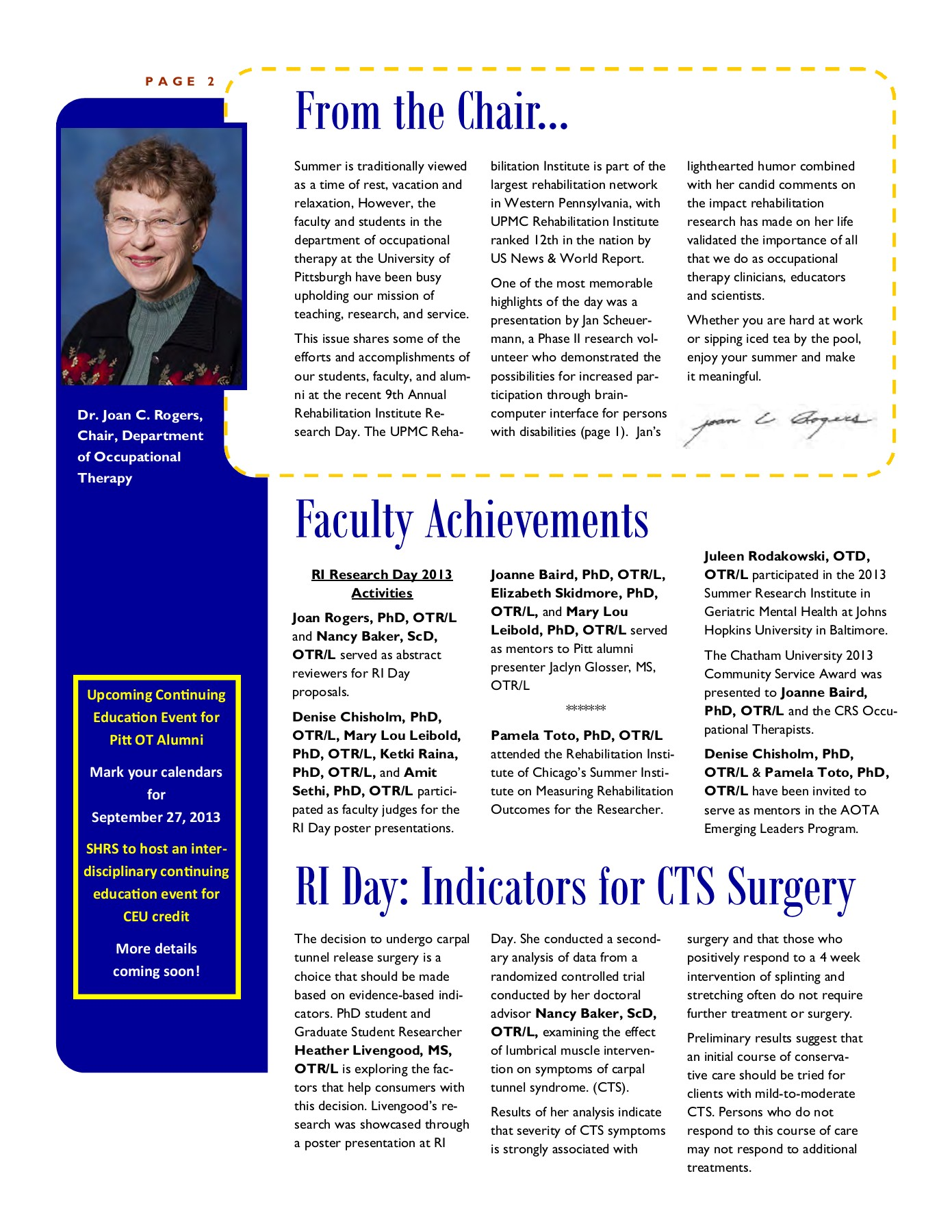 NewsLink Summer 2013 Pages 1 - 4 - Text Version   AnyFlip