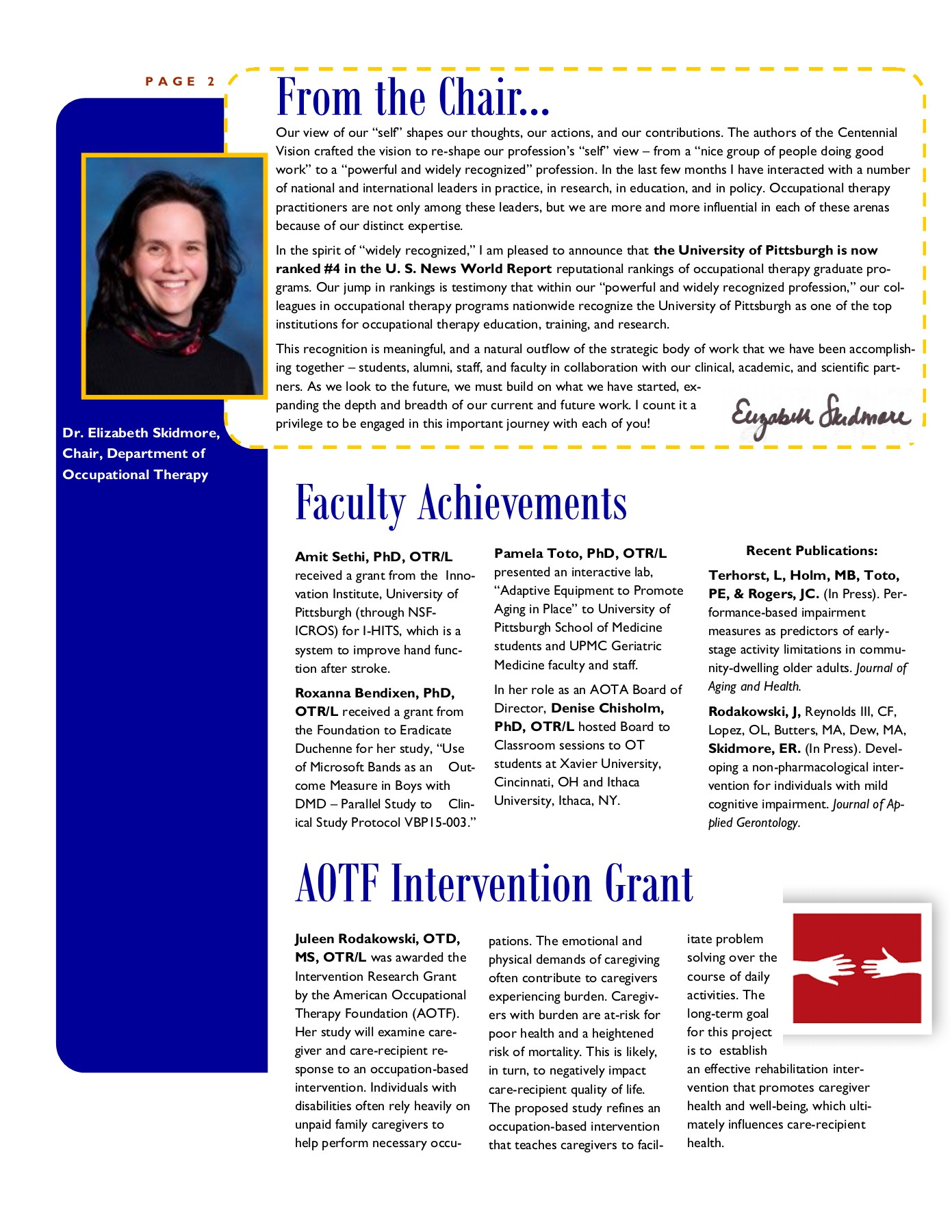 NewsLink Spring 2016 Pages 1 - 4 - Text Version   AnyFlip