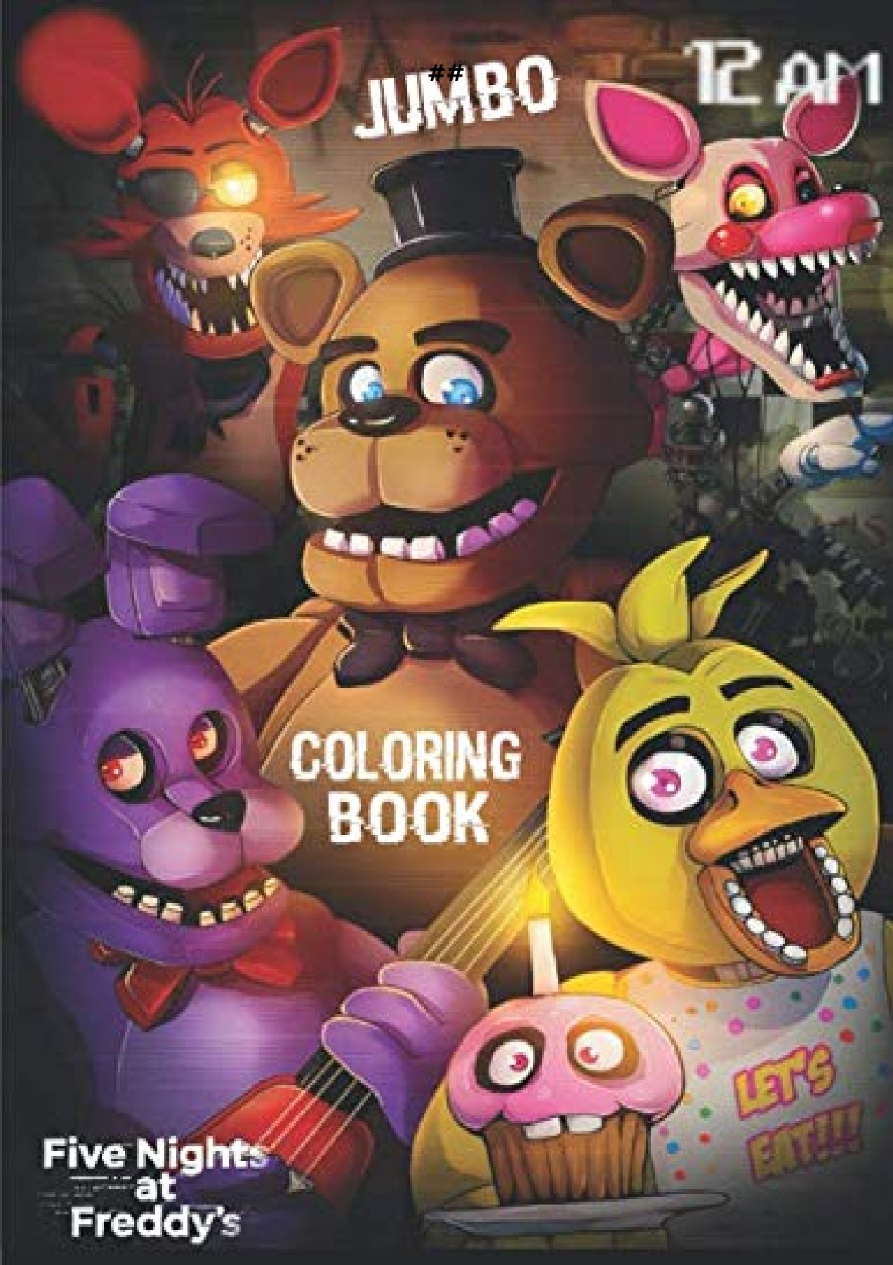 Audiobook Download Five Nights At Freddy S Jumbo Coloring Book High Quality Five Nights At Freddy S Coloring Pages More Than 40 Illustrations For Kids Adults For Android