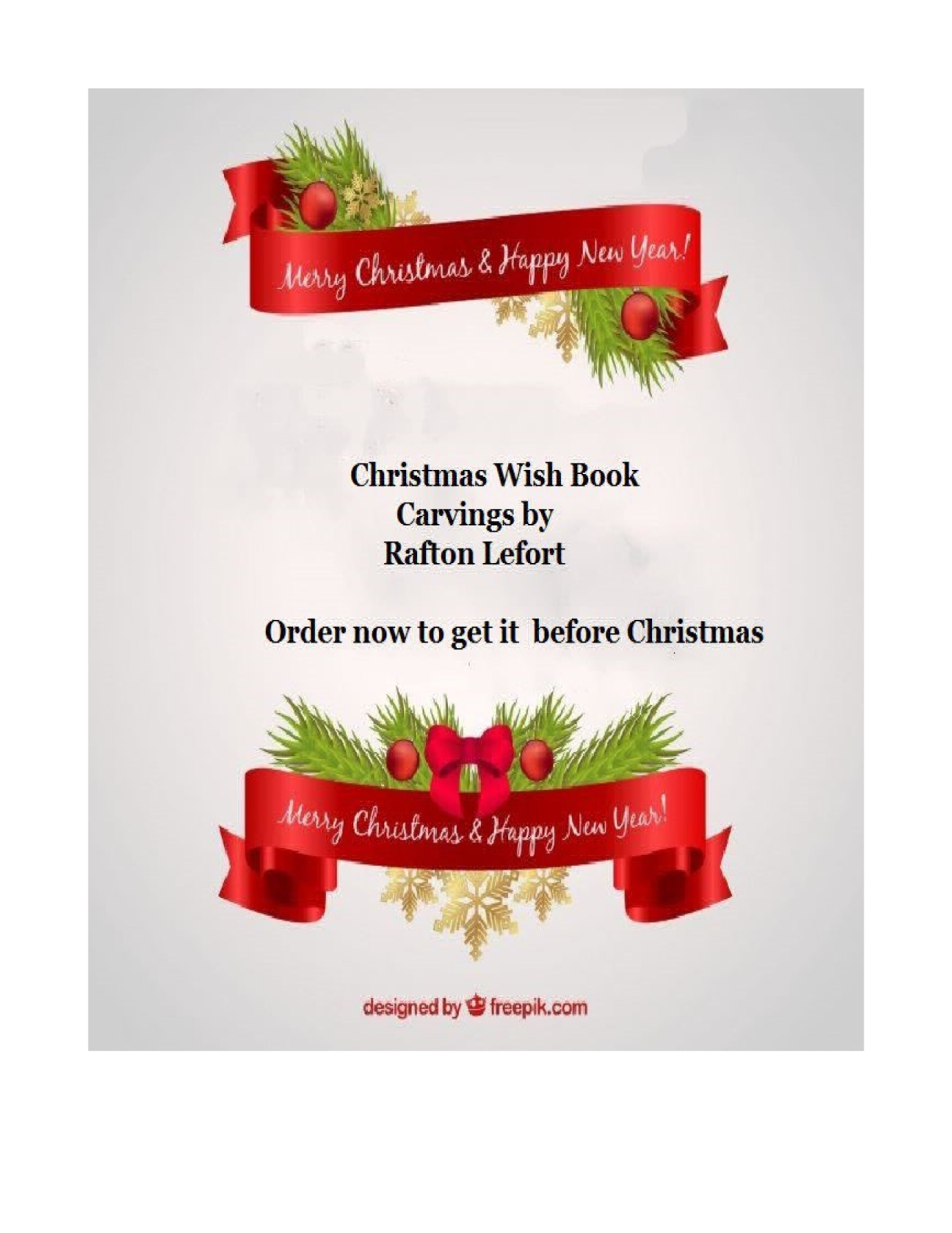 Christmas Wish Book for December