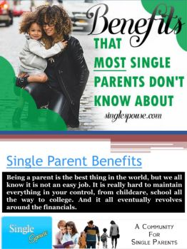 Benefits of dating a single parent