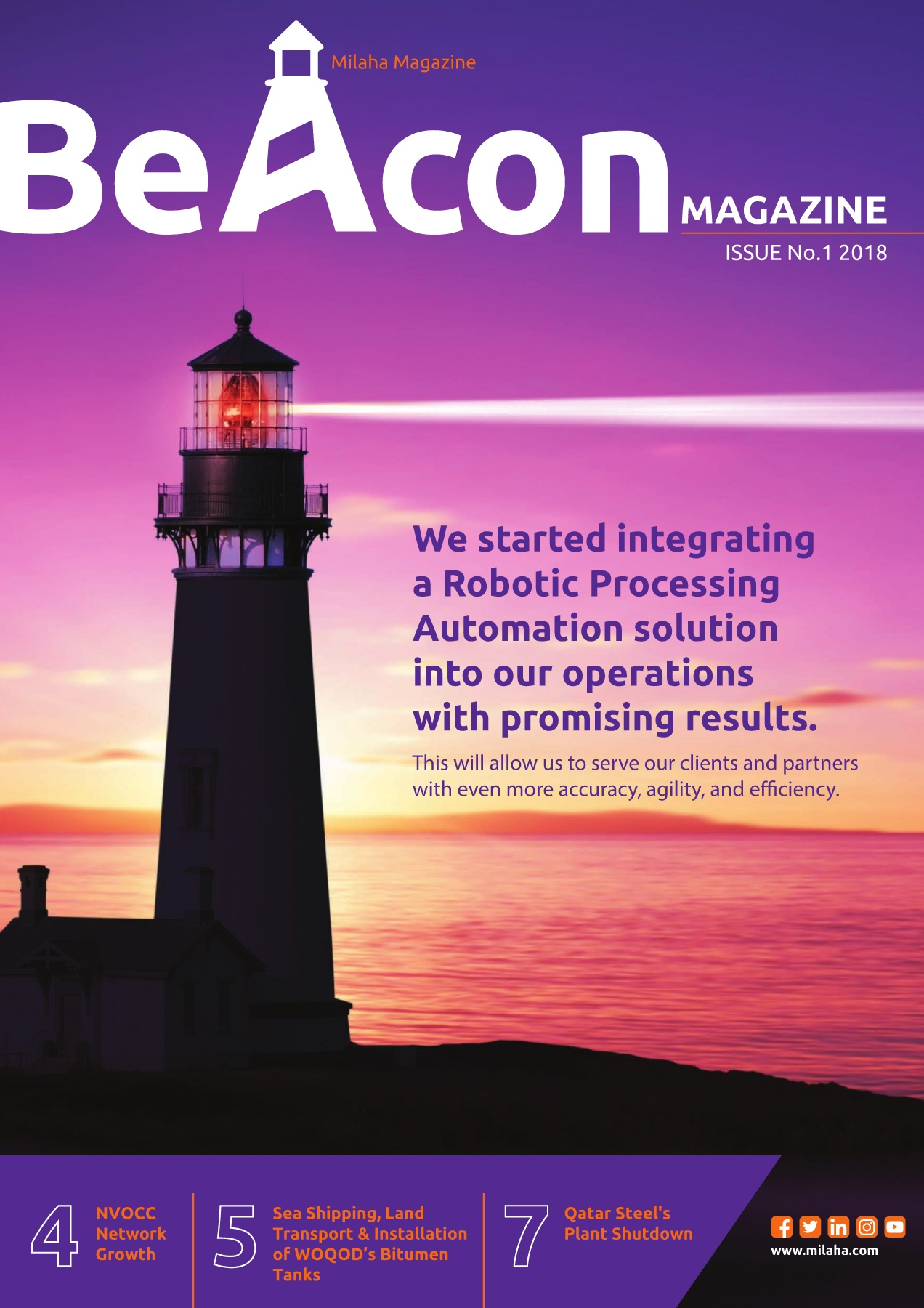 MILAHA BEACON MAGAZINE Pages 1 - 10 - Text Version | AnyFlip