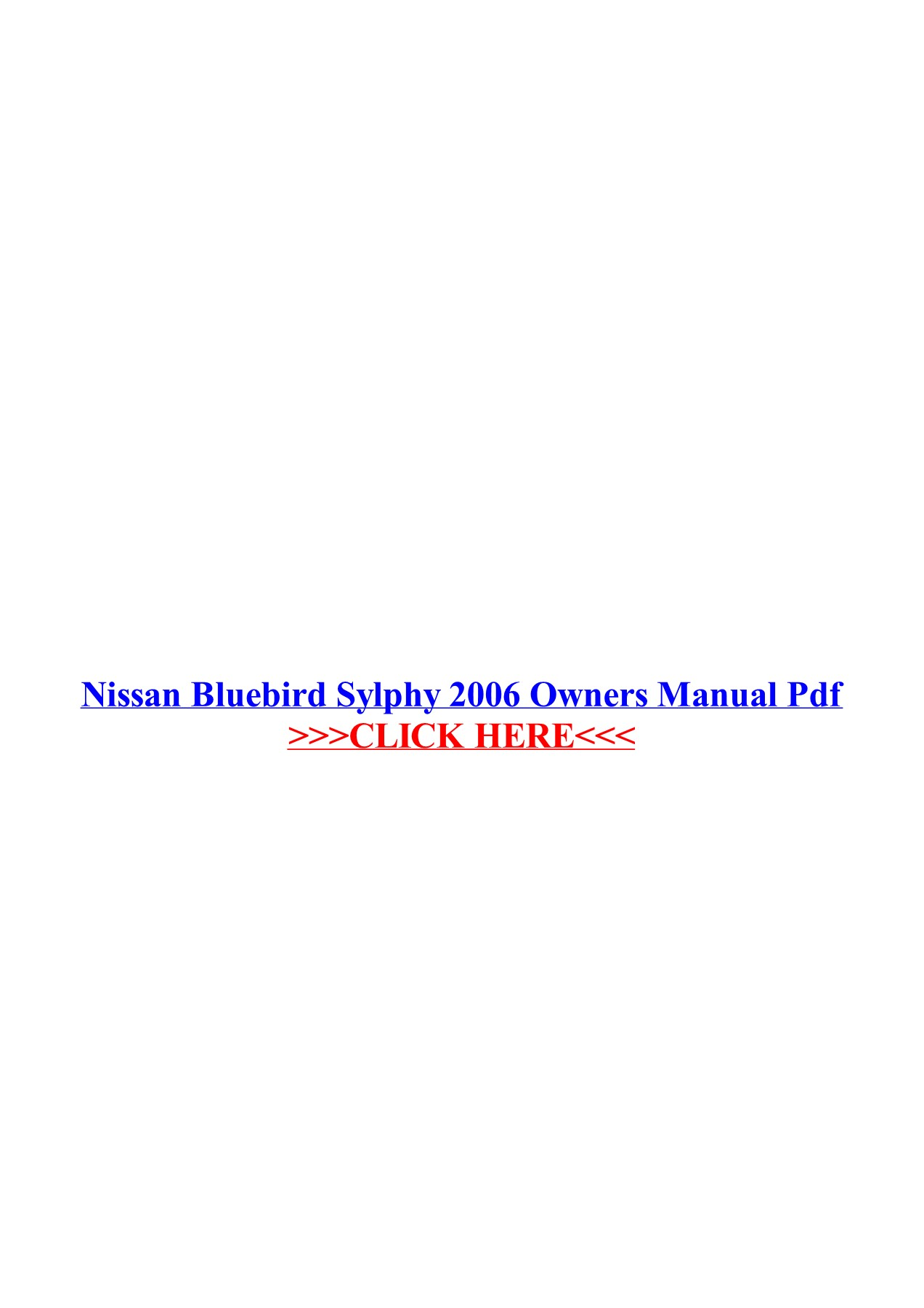 2003 nissan altima owners manual pdf