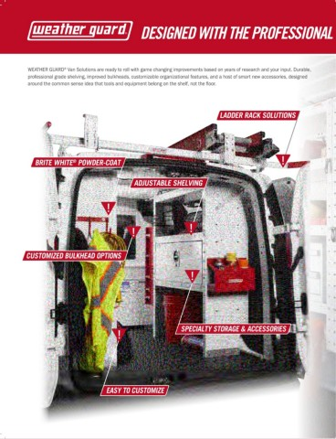 Weatherguard Van Storage Solutions 2018 Pages 1 36 Text Version Anyflip