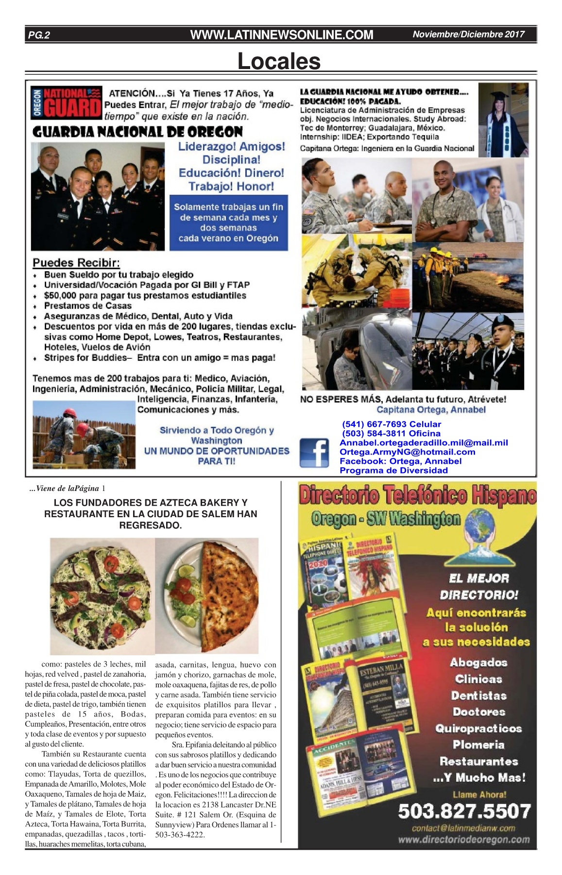 Latin News Nov - Dec 2017 Pages 1 - 16 - Text Version | AnyFlip