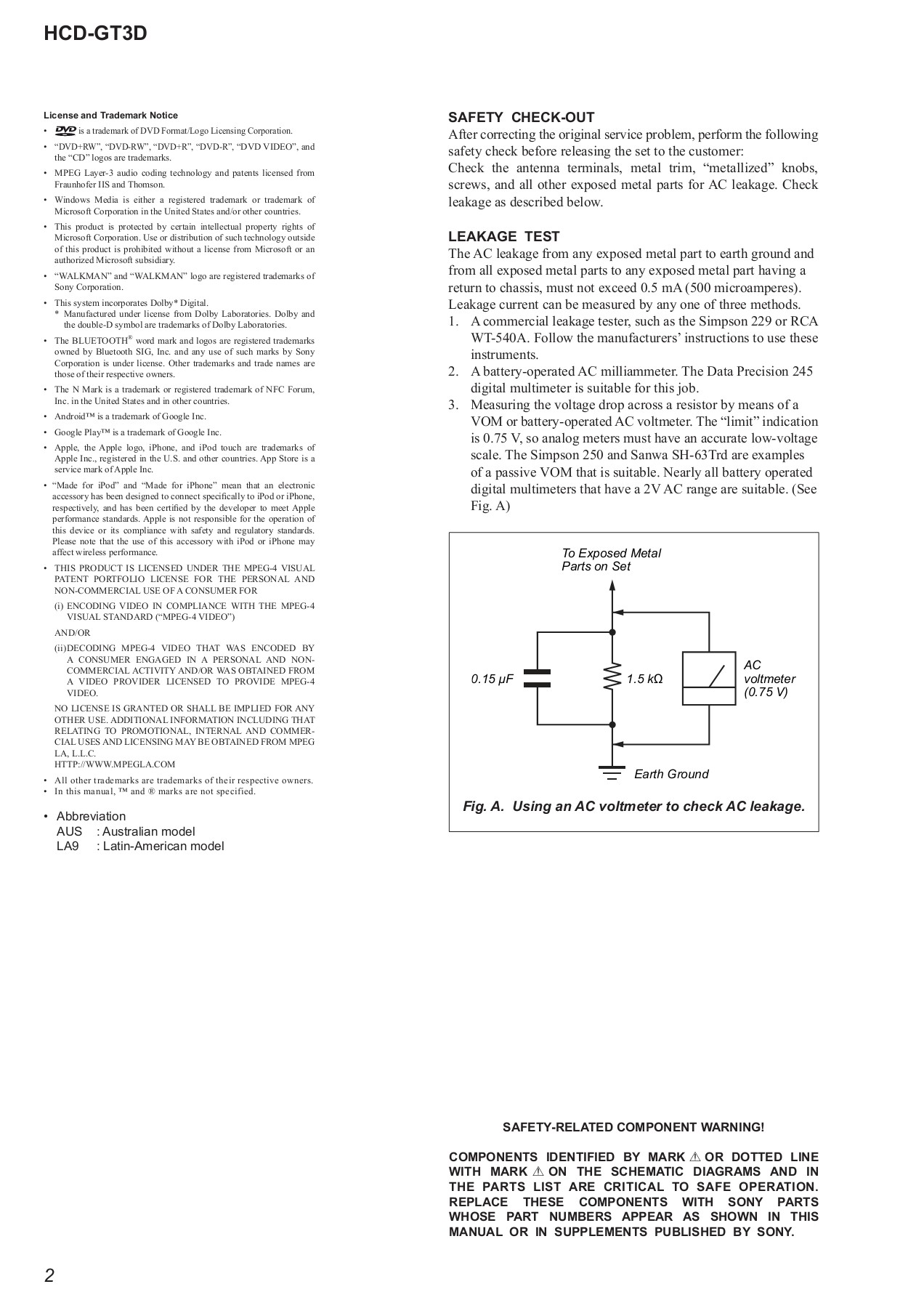 HCD-GT3D (989066901) Pages 1 - 50 - Text Version | AnyFlip on