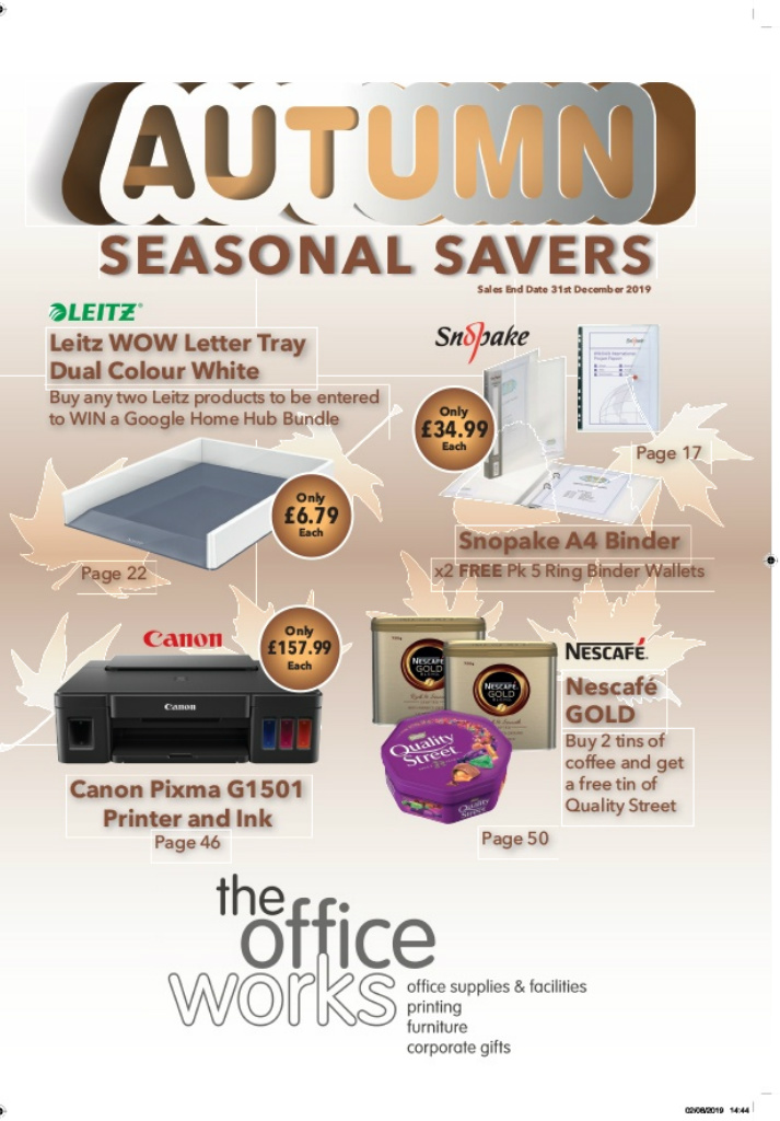 Tow Seasonal Saver Q4 2019 Pages 1 50 Text Version Anyflip
