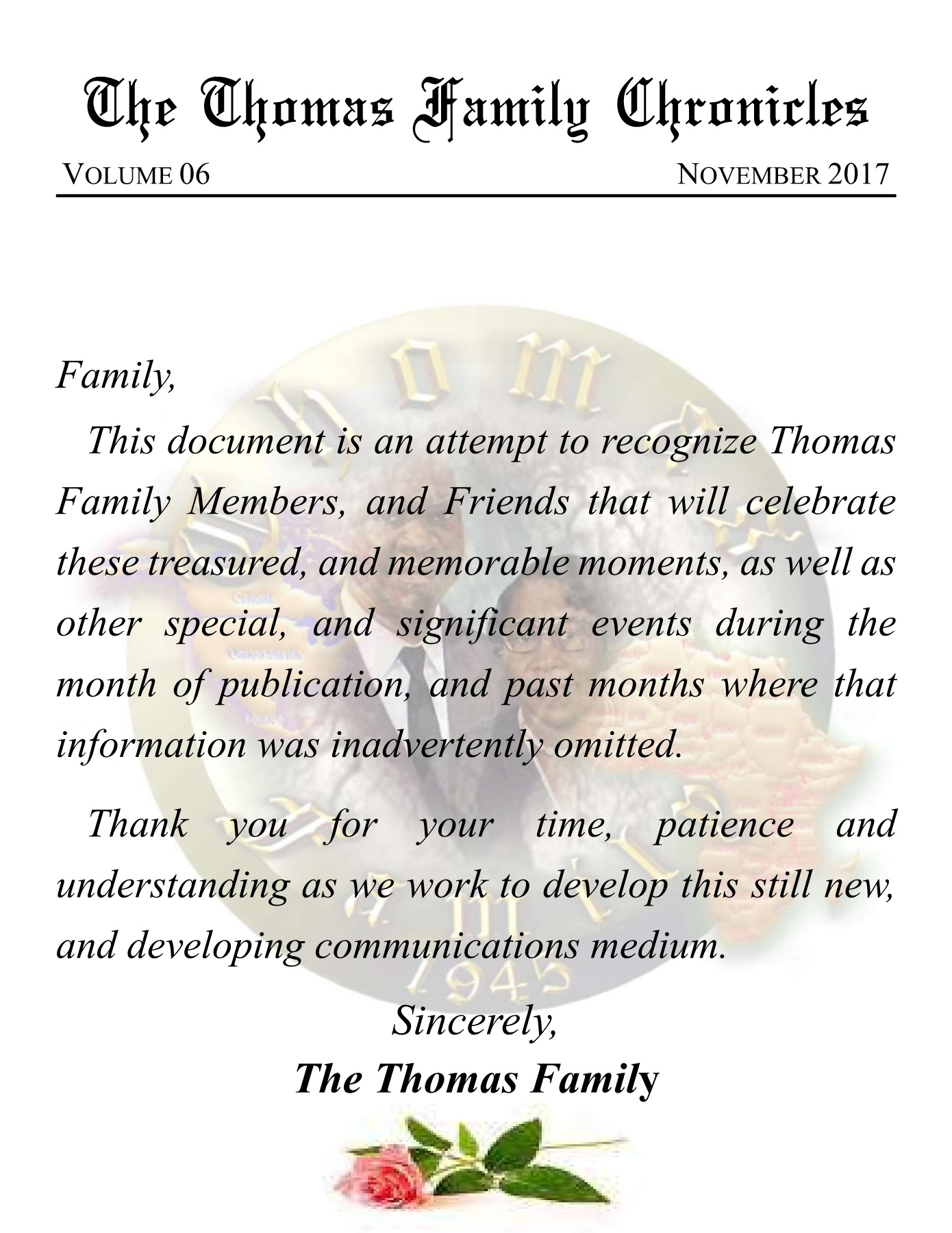The November 2017 Thomas Family Chronicles Pages 1 14