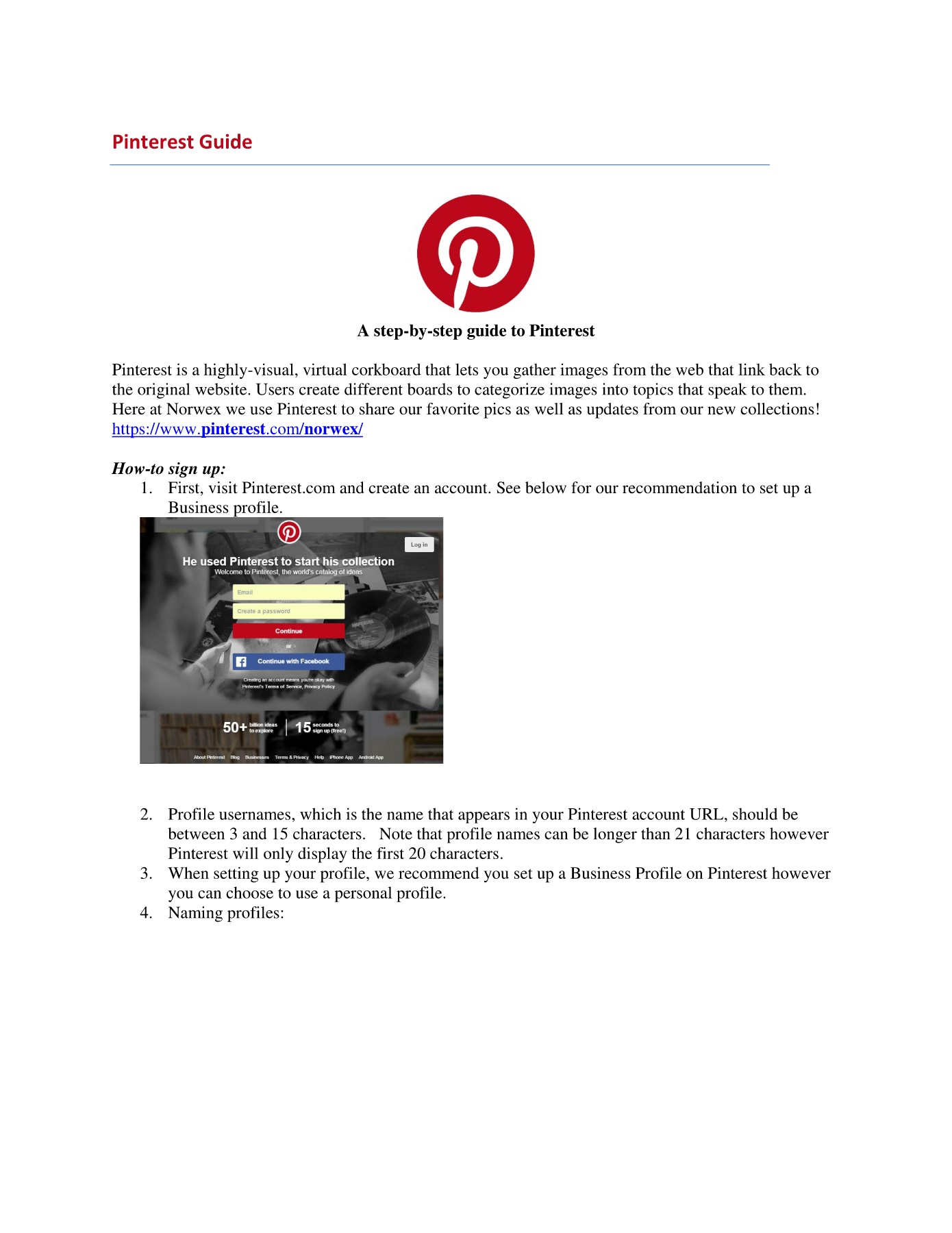 Norwex Pinterest Guide Instructions Pages 1 - 5 - Text Version | AnyFlip