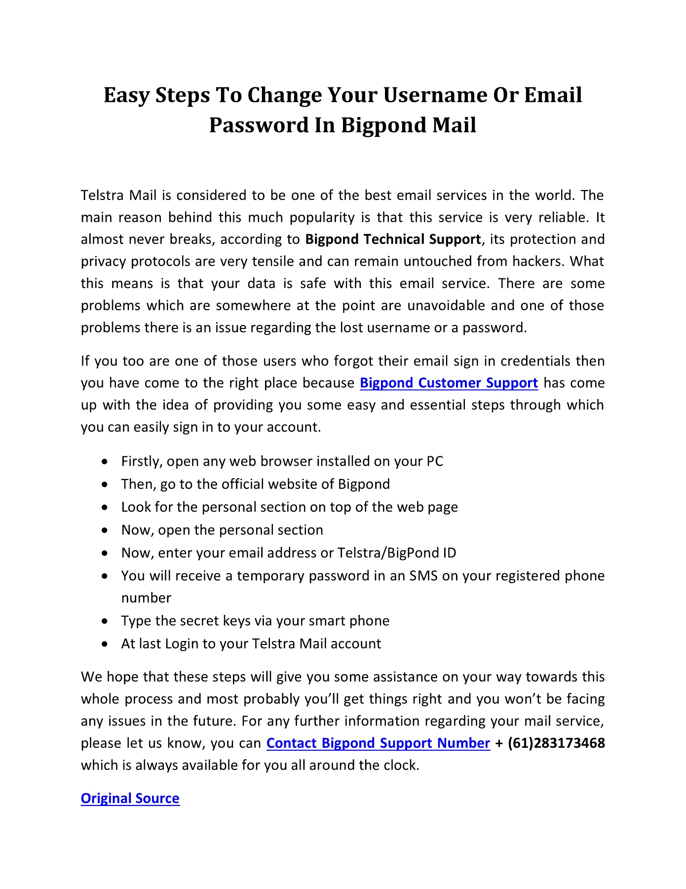 Easy Steps To Change Your Username Or Email Password In