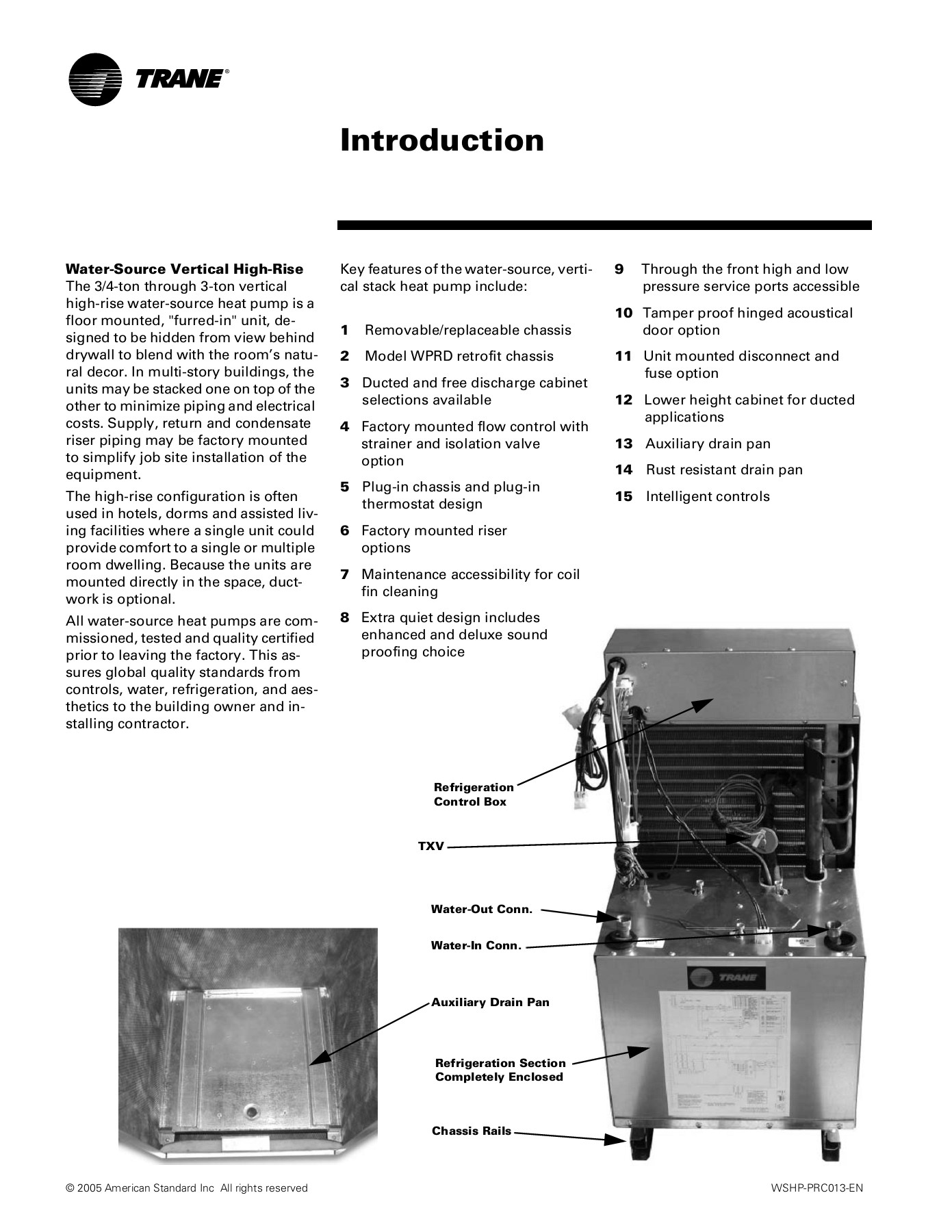 High Efficiency Vertical Stack Water Source Comfort System Pages 1 50 Text Version Anyflip