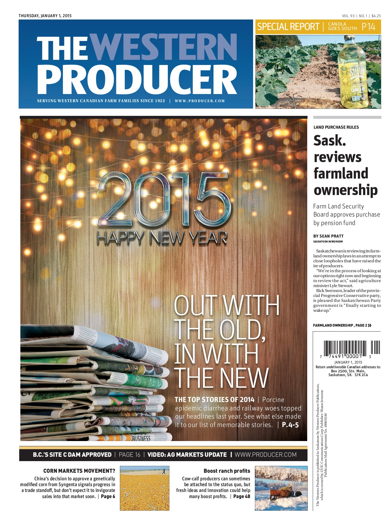 Western Producer 2015-01-01_clone Pages 1 - 50 - Text Version | AnyFlip